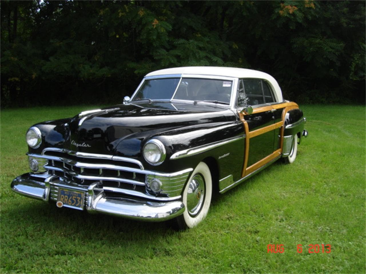 1950 Chrysler Town & Country Wallpaper
