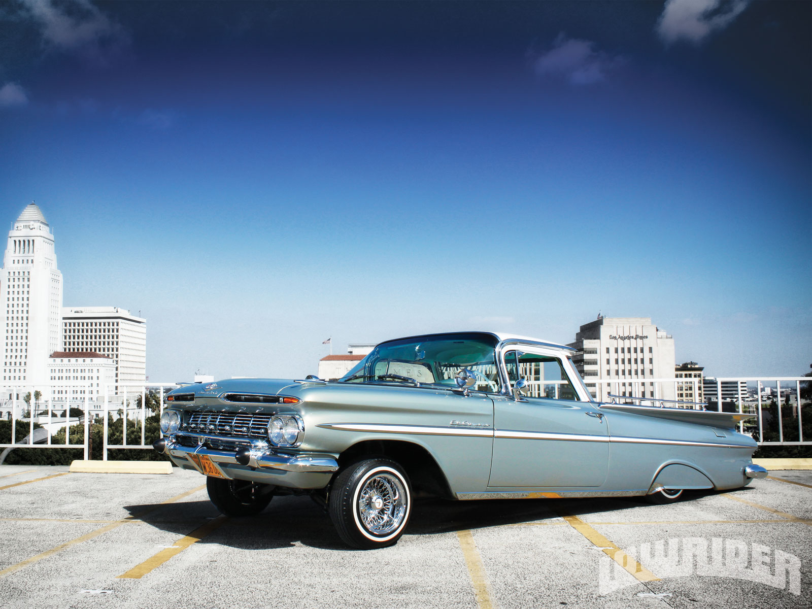 1959 Chevrolet El Camino Wallpaper