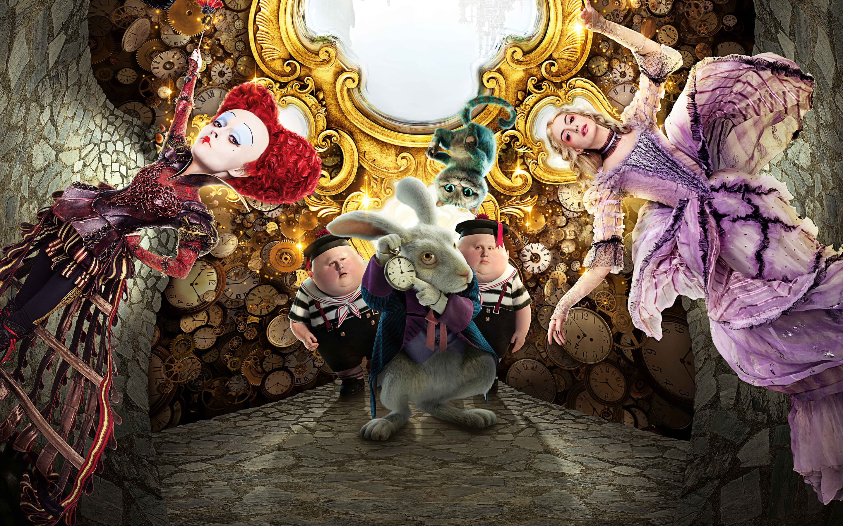 Alice Through the Looking Glass Wallpaper