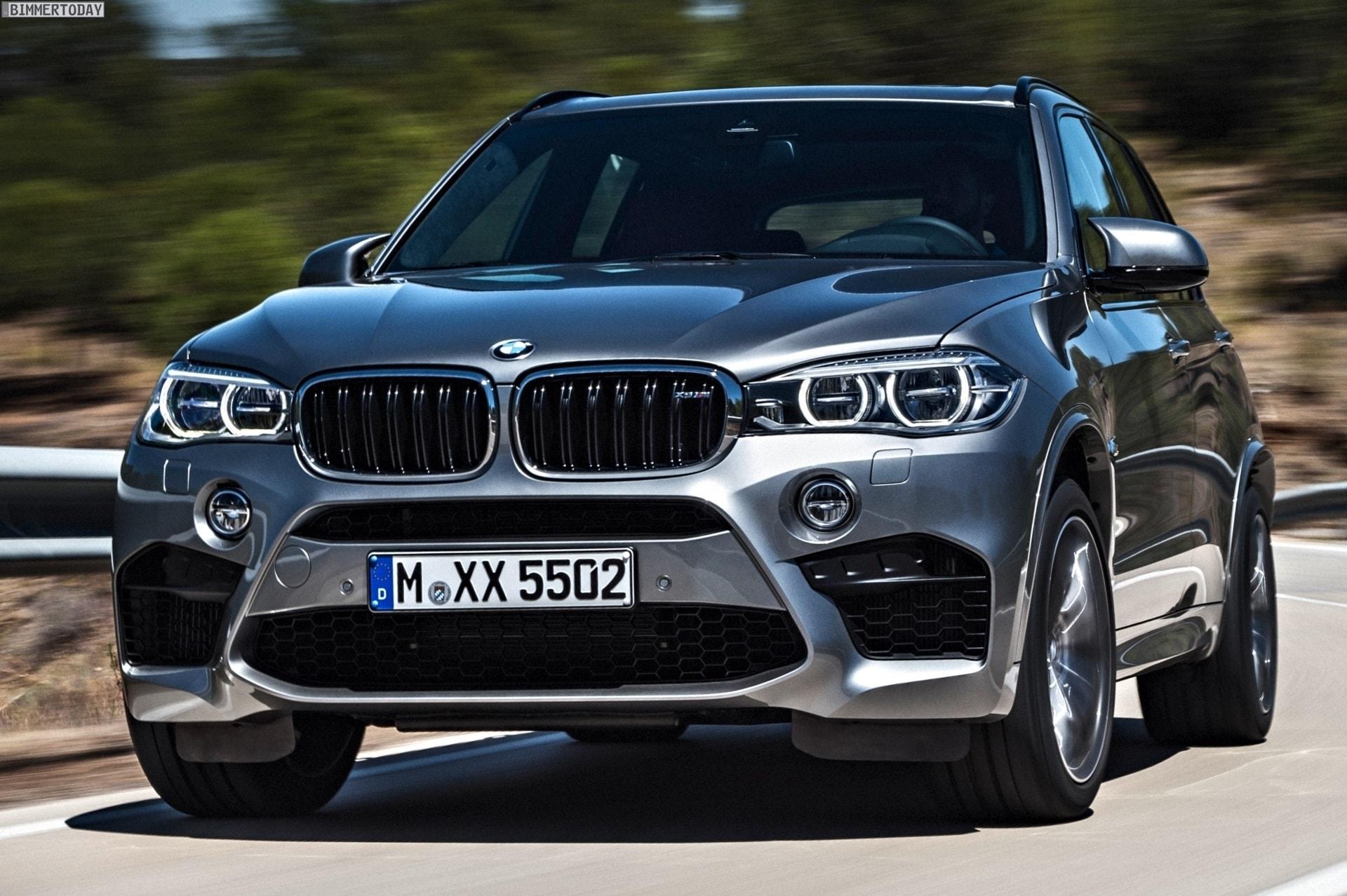 BMW X5M (F85) Wallpaper