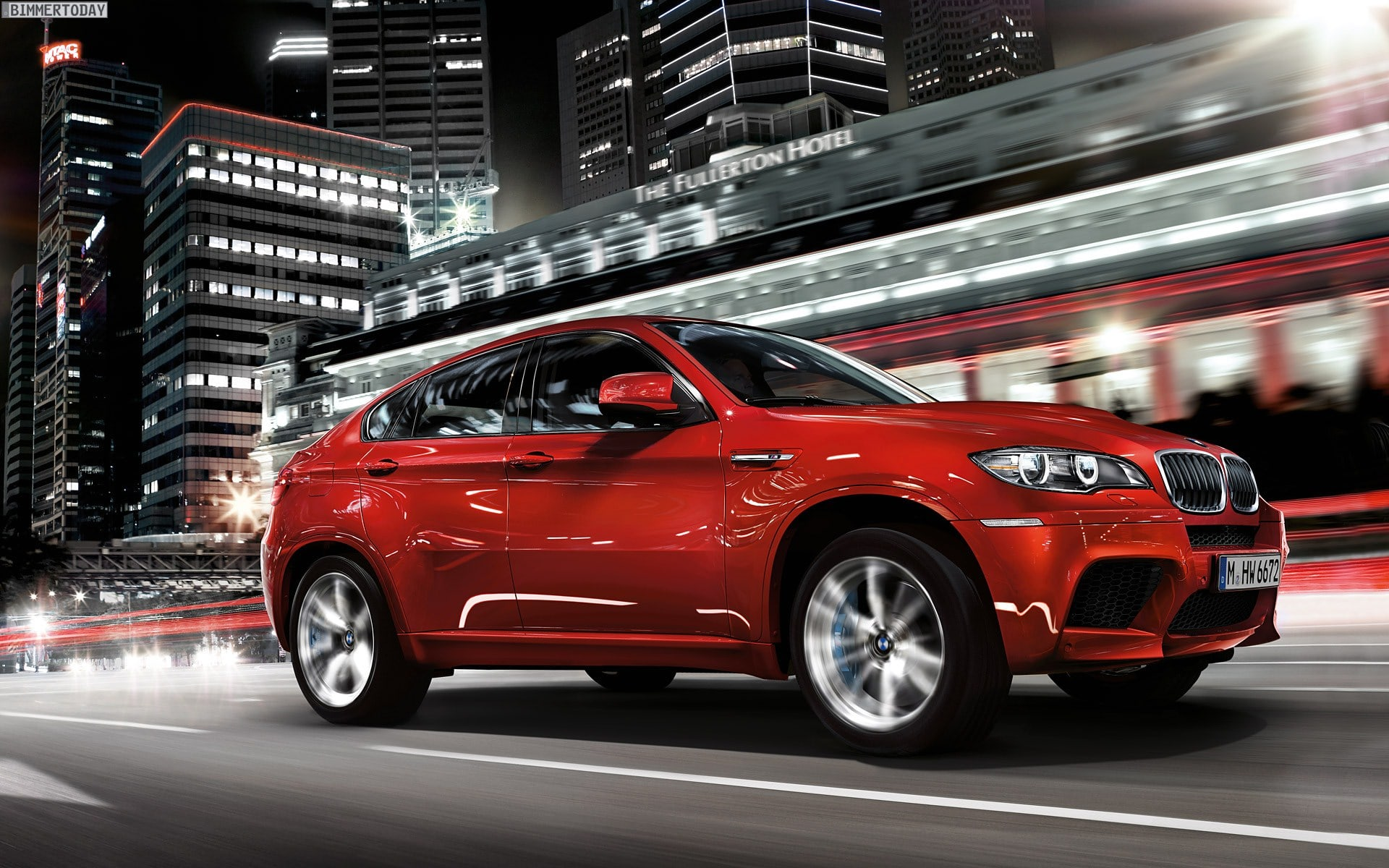 BMW X6 wallpaper for mobile