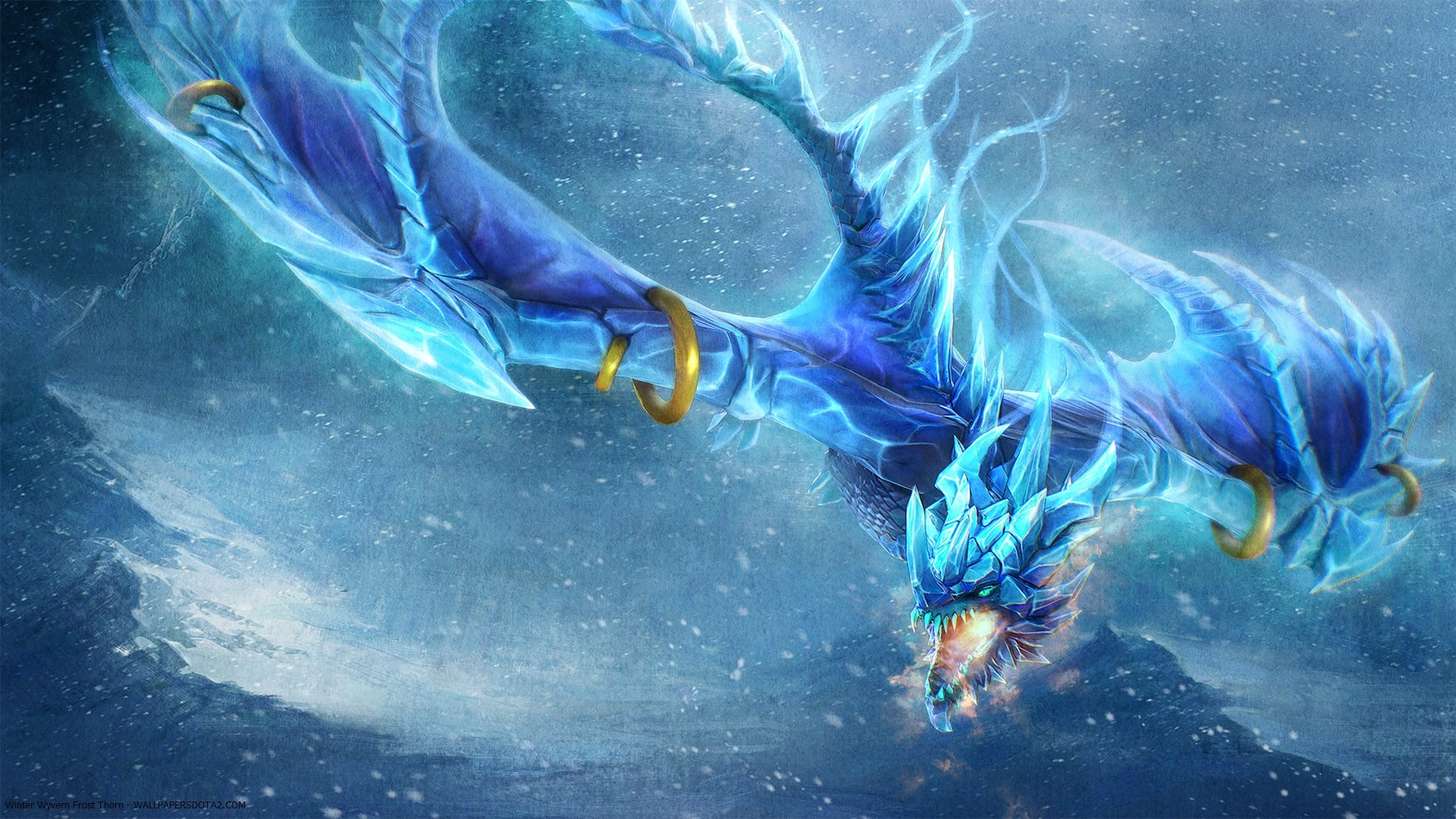 Dota 2 : Winter Wyvern Wallpaper