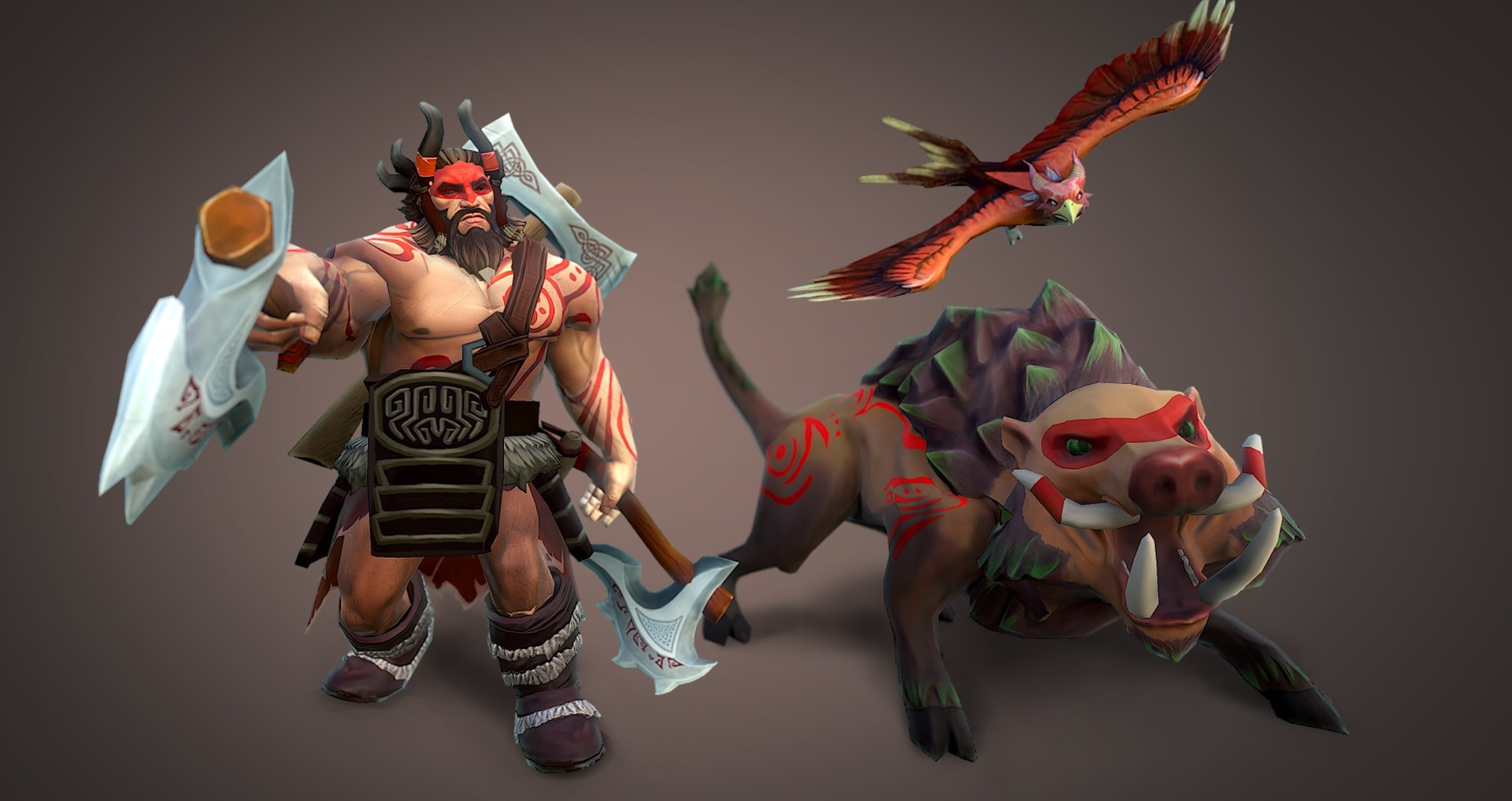 Dota2 : Beastmaster Wallpaper