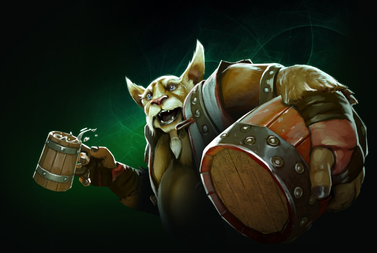 Dota2 : Brewmaster Background