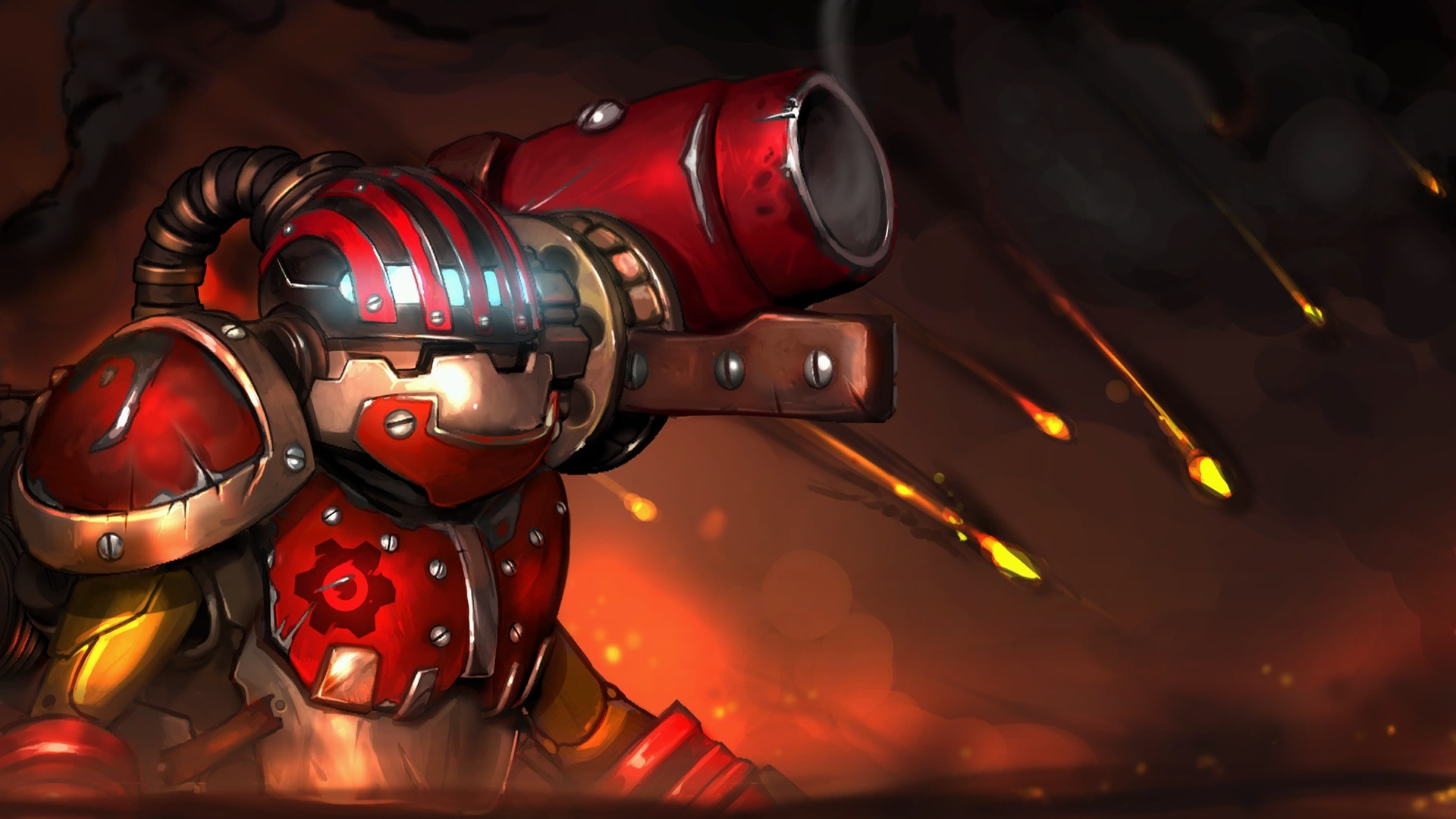 Dota2 : Clockwerk Wallpaper