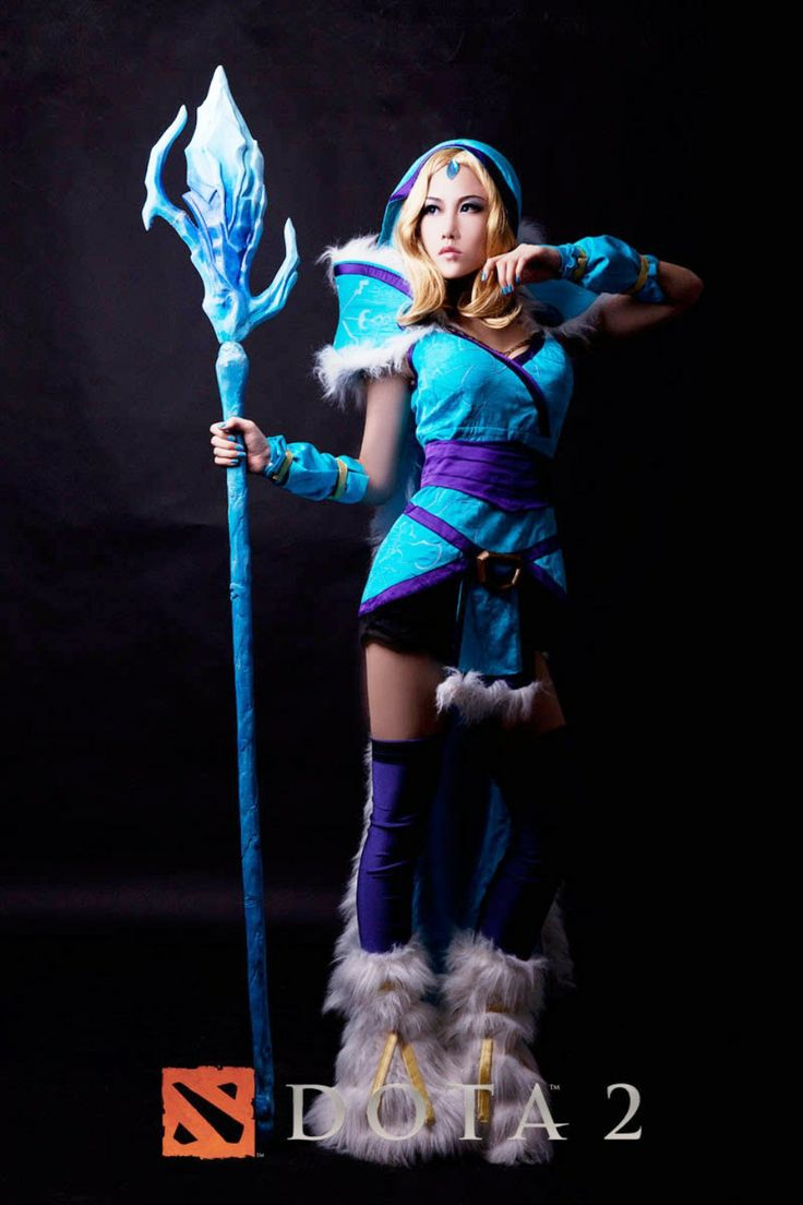 Dota2 : Crystal Maiden for mobile