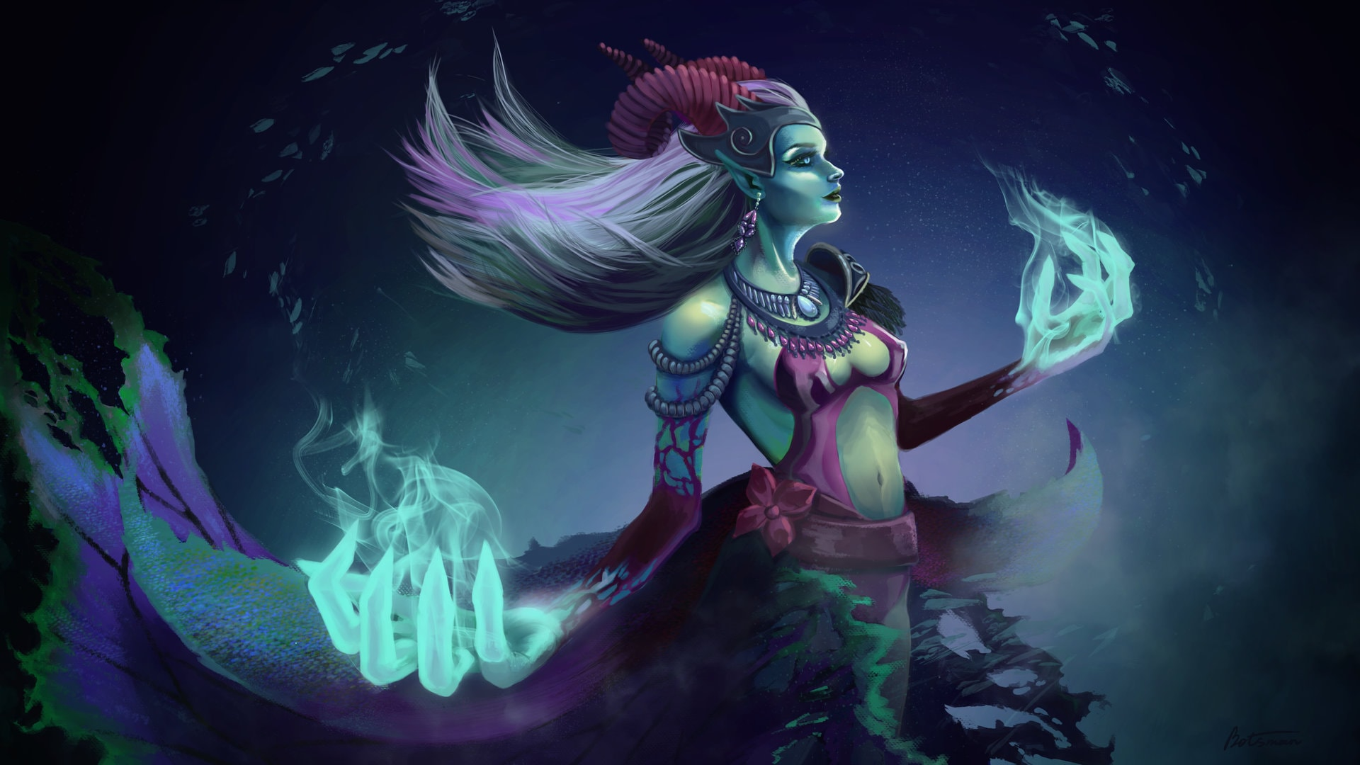 Dota2 : Death Prophet widescreen wallpapers