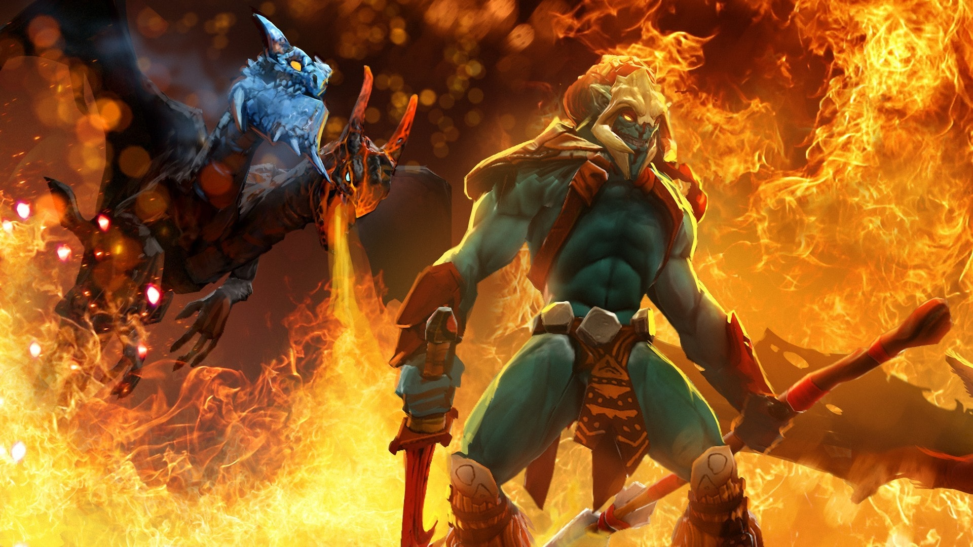 Dota2 : Jakiro HD pictures