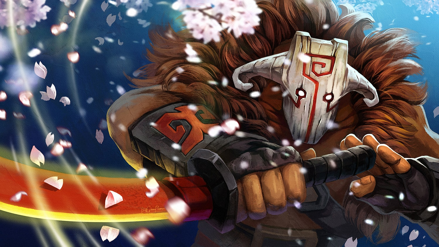 Dota2 : Juggernaut Wallpaper