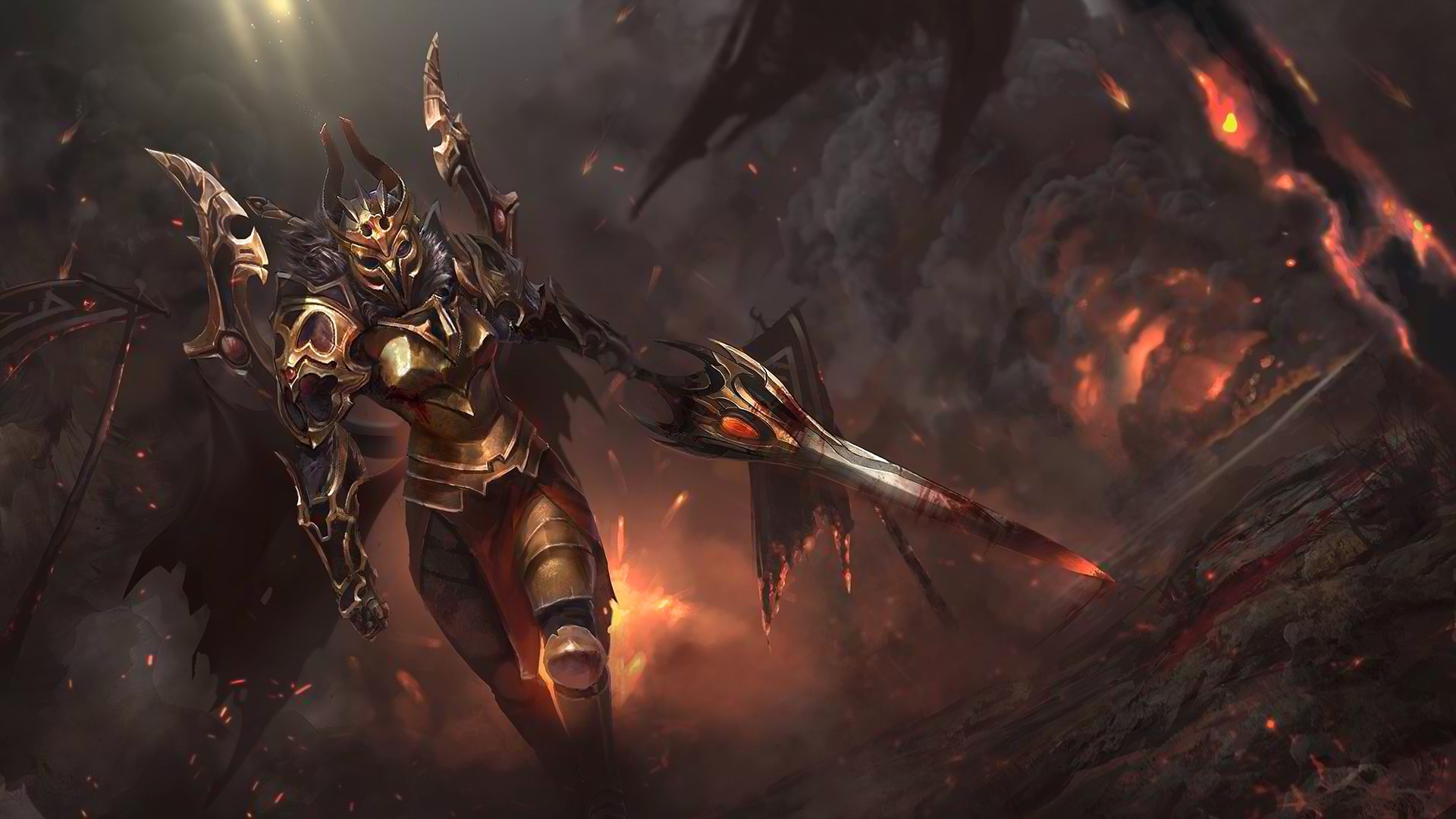 Dota2 Legion Commander Hd Wallpapers 7wallpapers Net