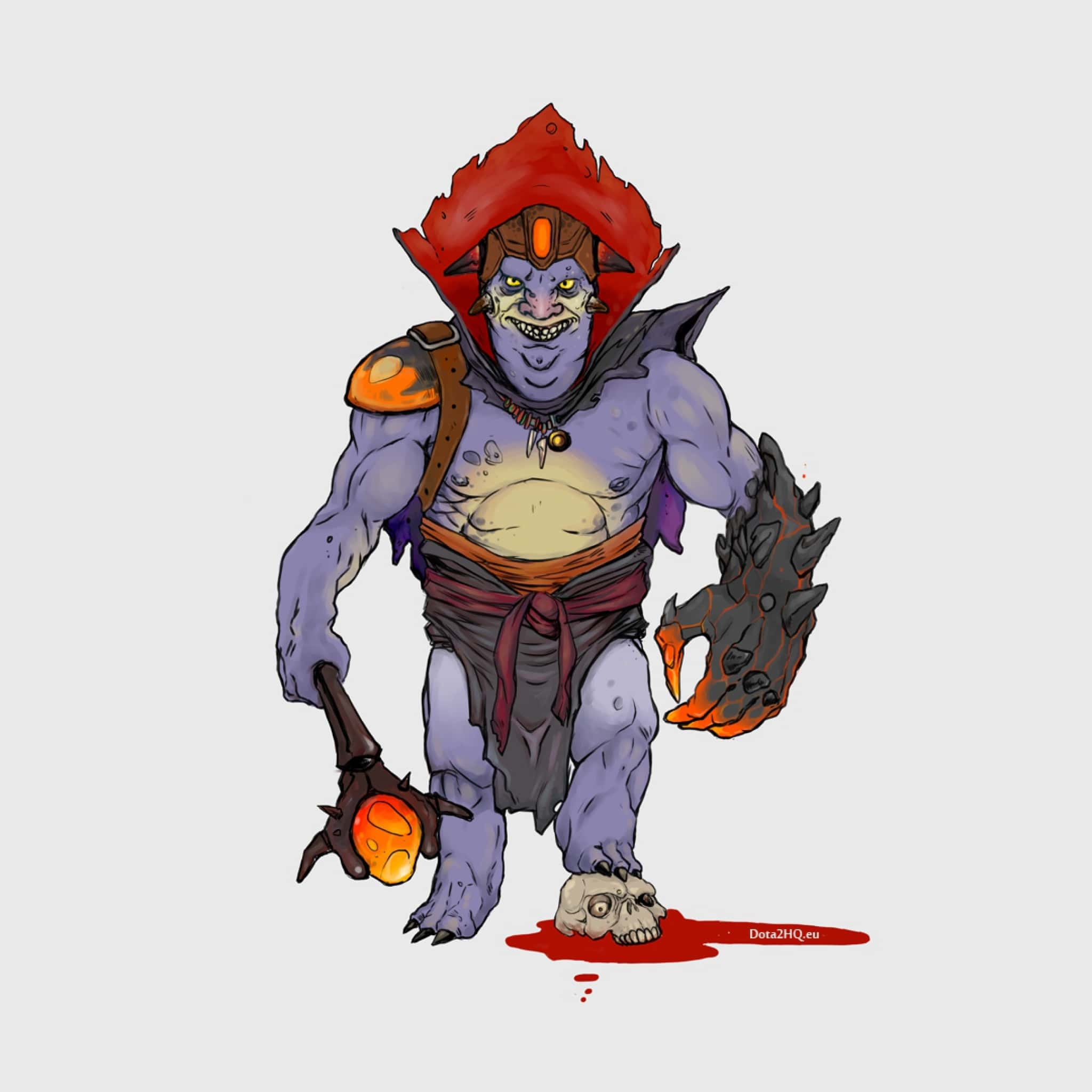 Dota2 : Lion HD pictures
