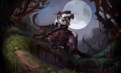 Dota2 : Luna Wallpaper