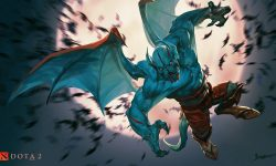Dota2 : Night Stalker full hd wallpapers