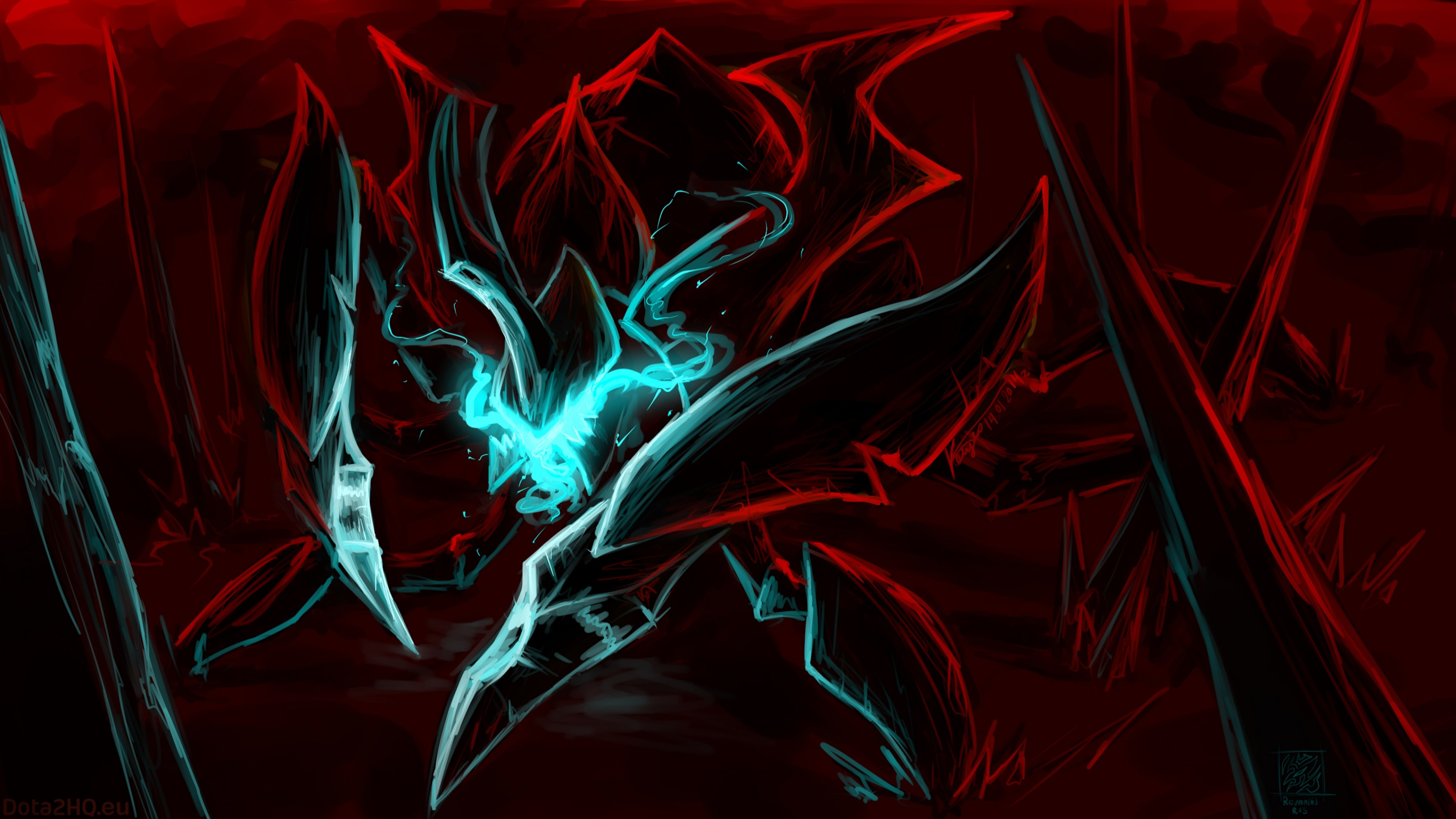 Dota2 : Nyx Assassin full hd wallpapers