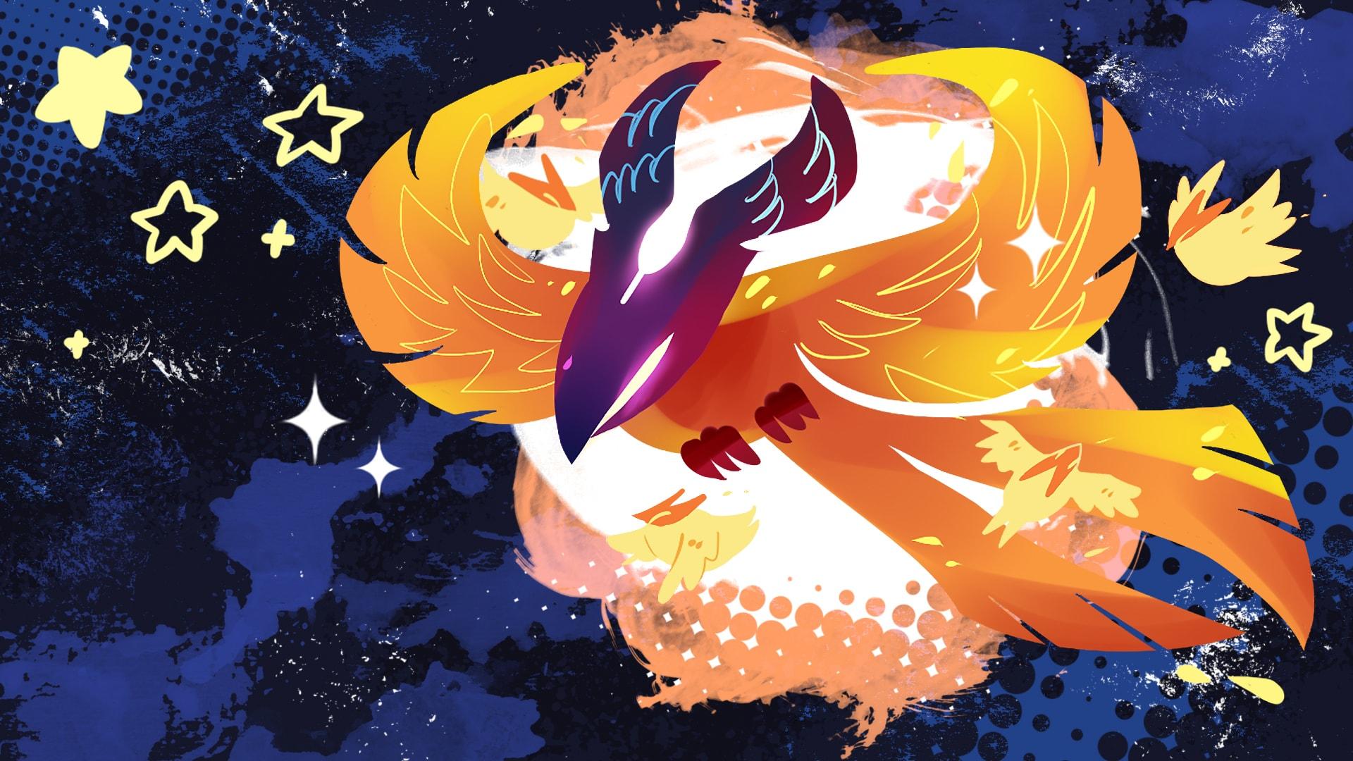 Dota2 : Phoenix Backgrounds