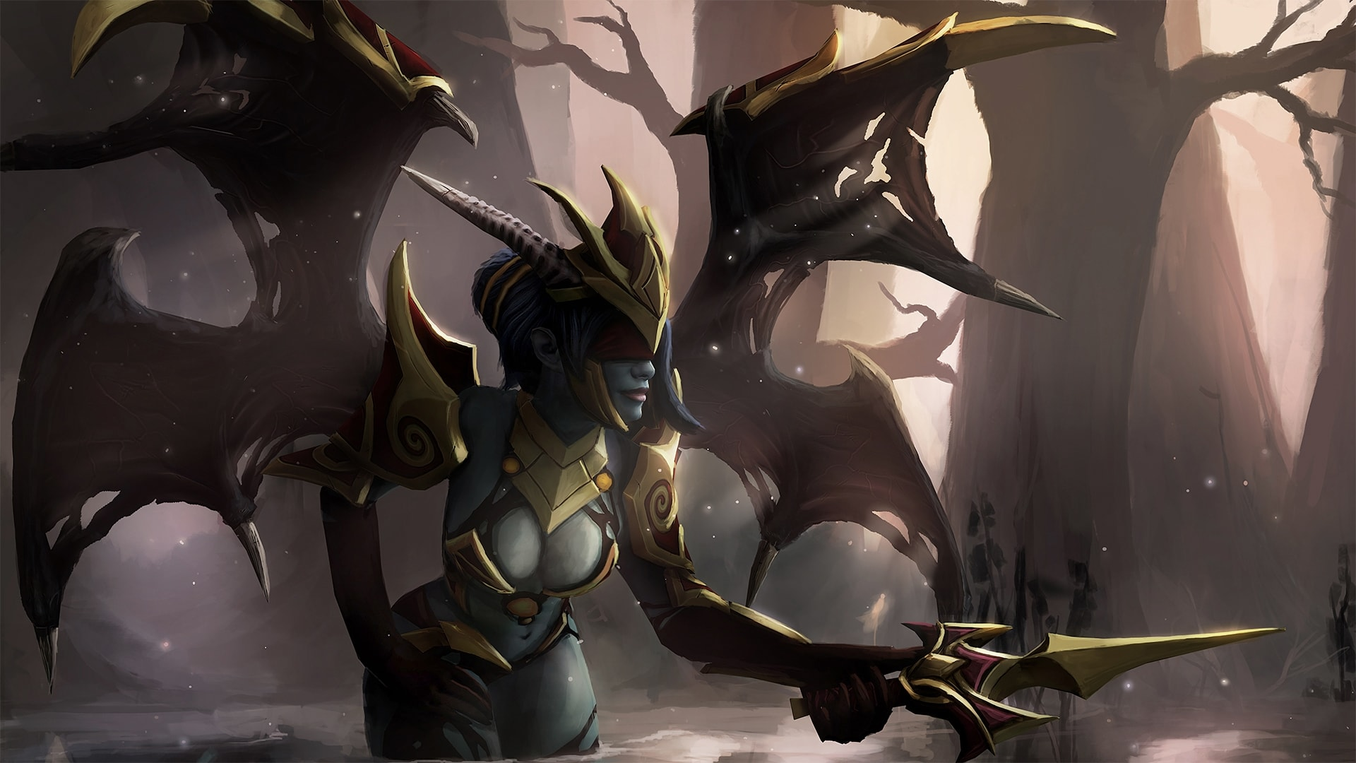 Dota2 Queen Of Pain Hd Wallpapers 7wallpapers Net