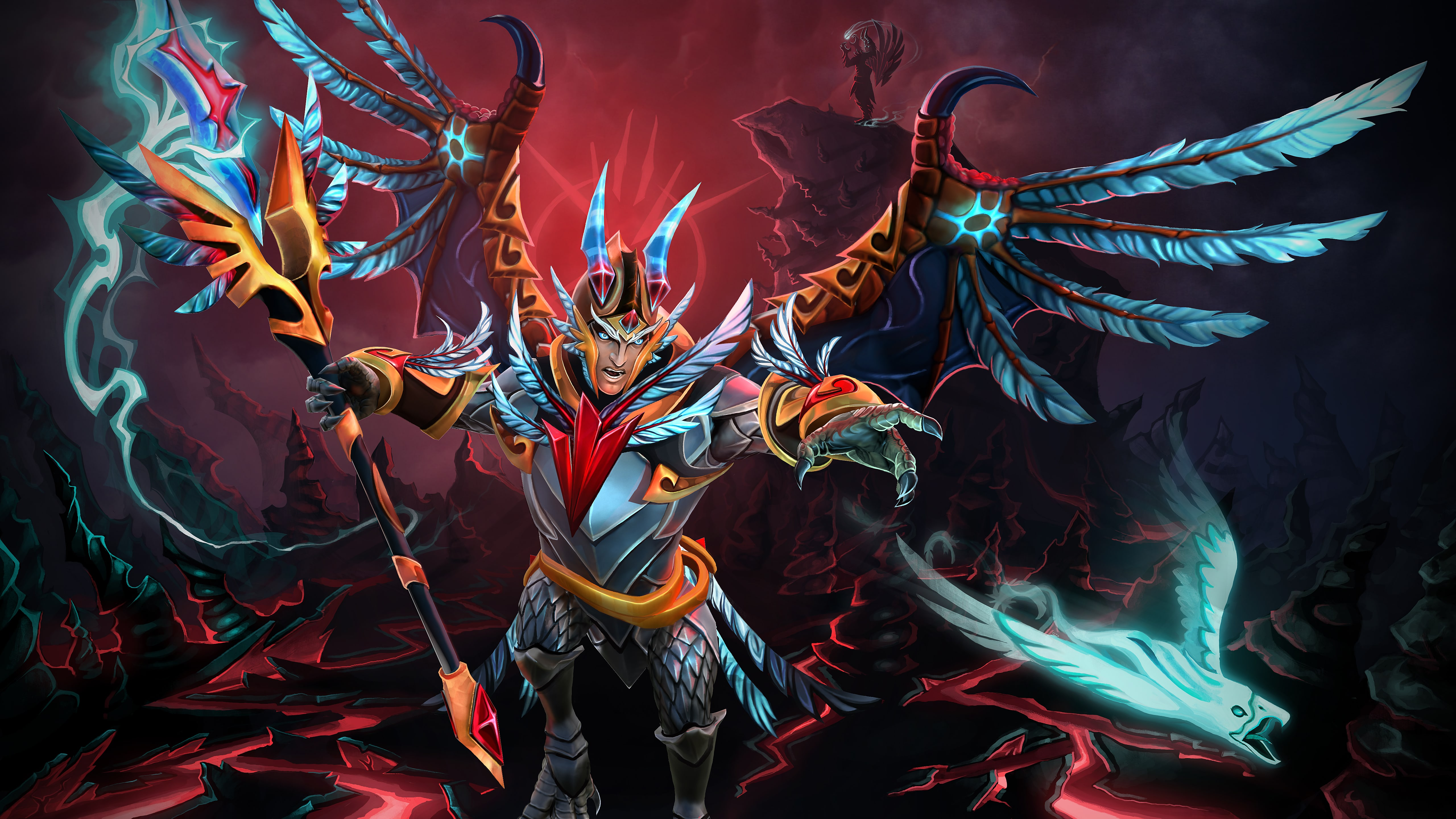 Dota2 : Skywrath Mage full hd wallpapers