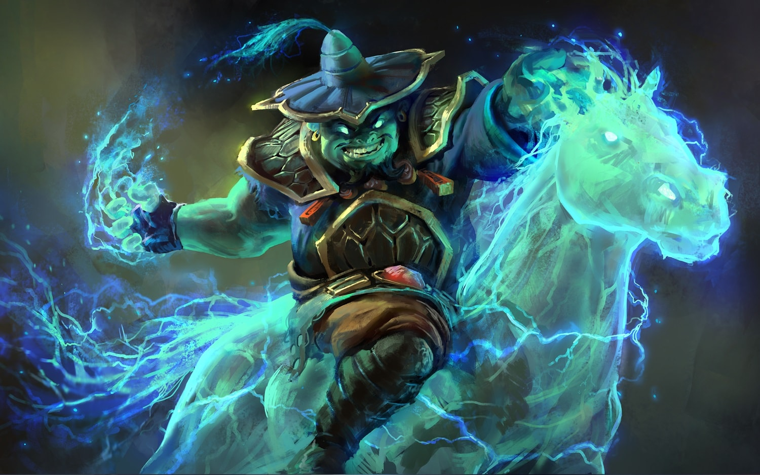 Dota2 : Storm Spirit Wallpaper