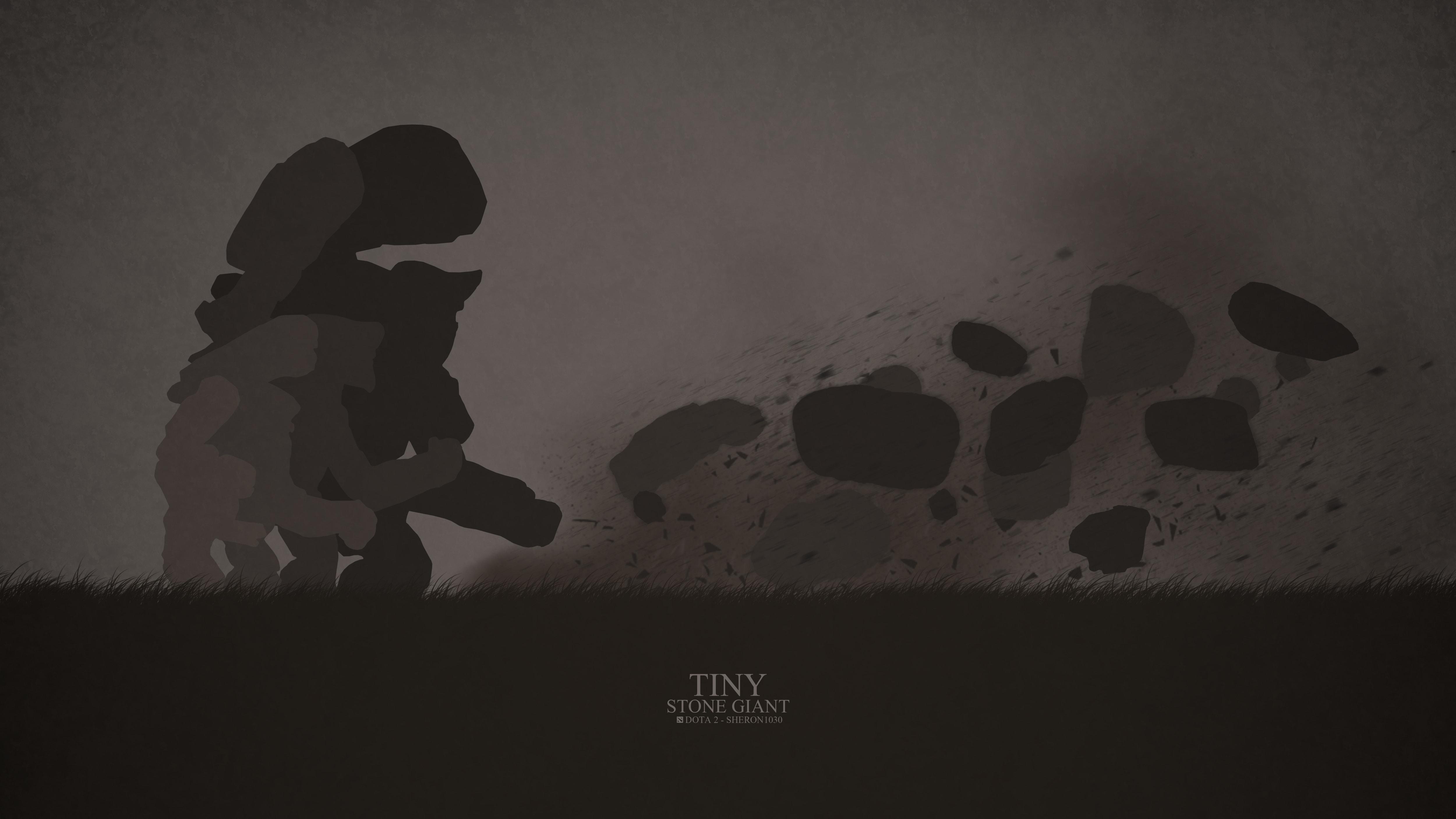 Dota2 : Tiny Wallpaper