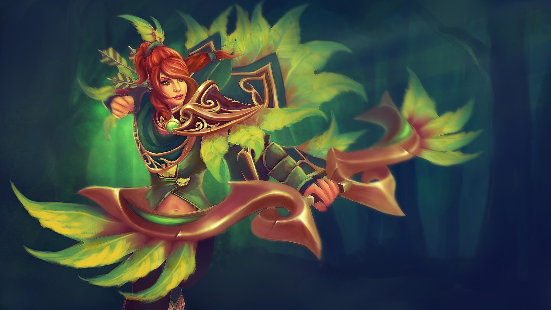 Dota2 Windranger Backgrounds Wallpaper