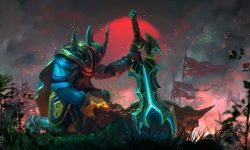 Dota2 : Wraith King full hd wallpapers
