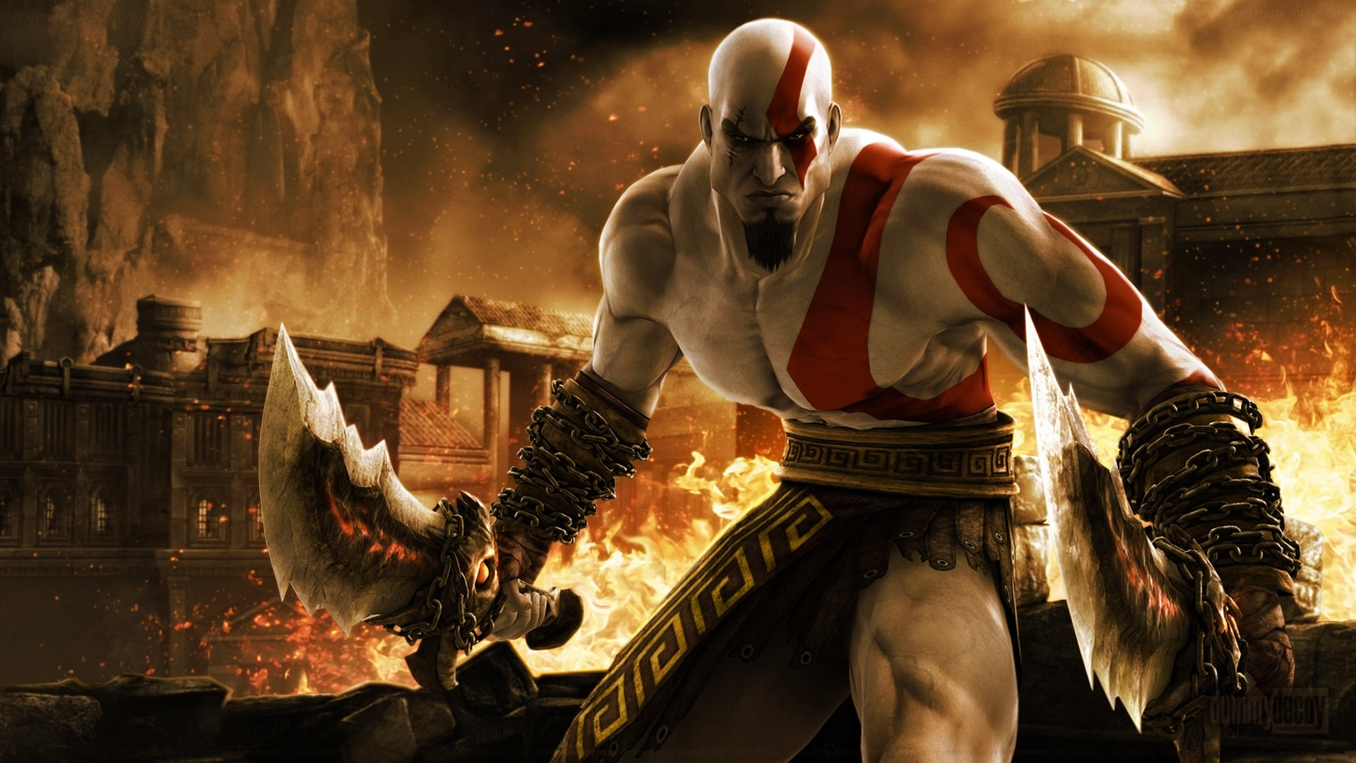God Of War 2 full hd wallpapers