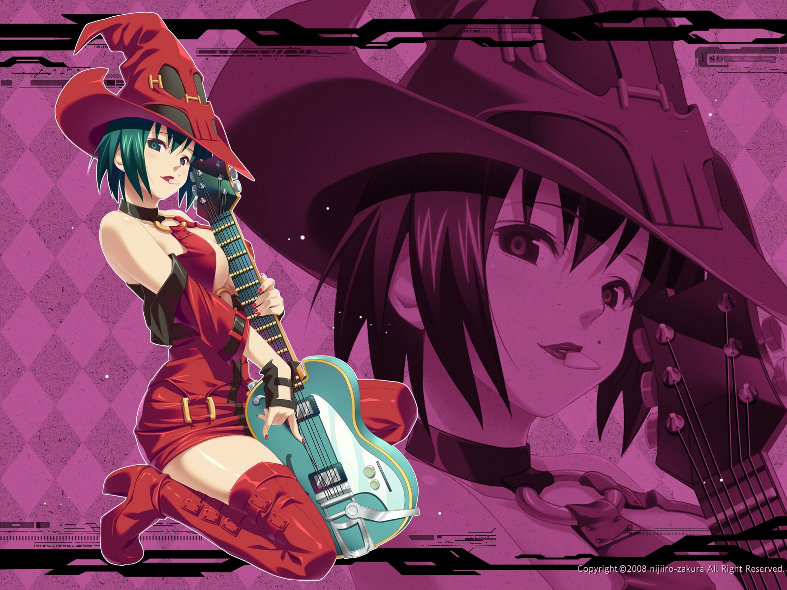 Guilty Gear: I-No Wallpaper