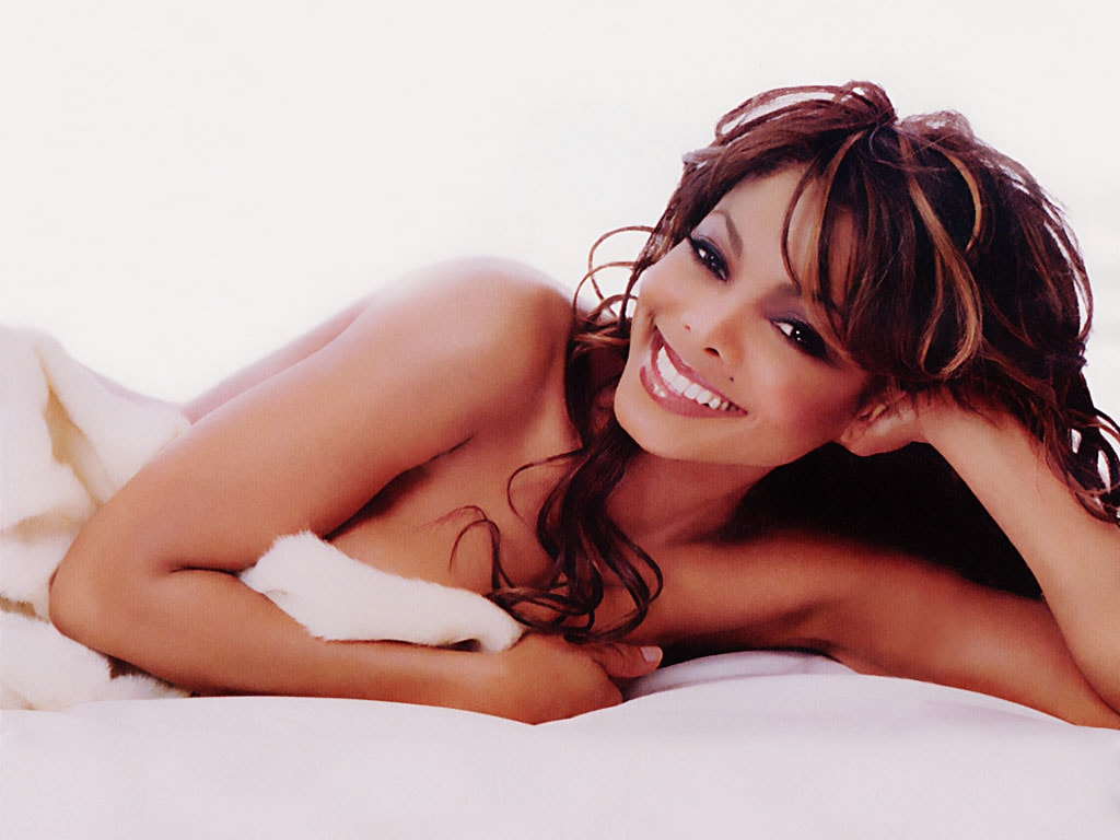 Janet Jackson widescreen for desktop