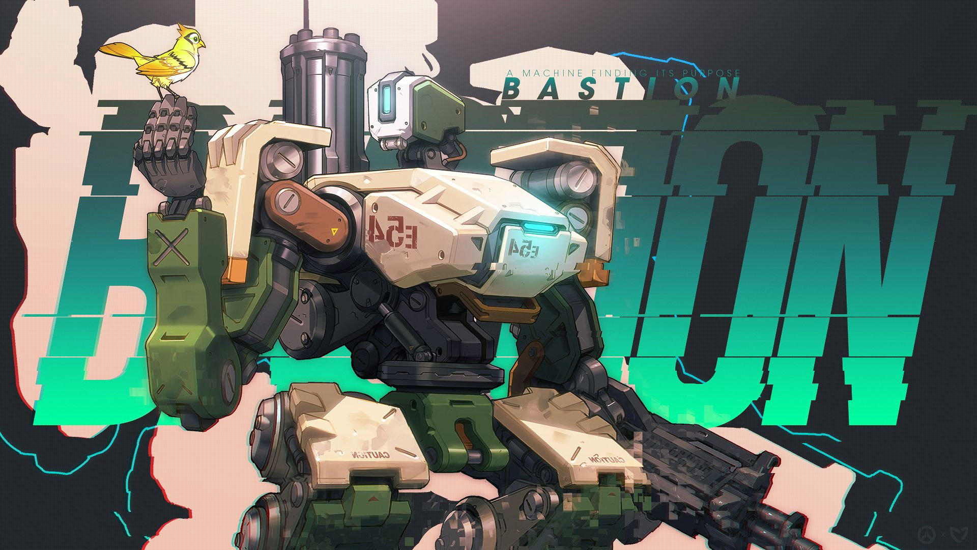 Overwatch : Bastion Backgrounds