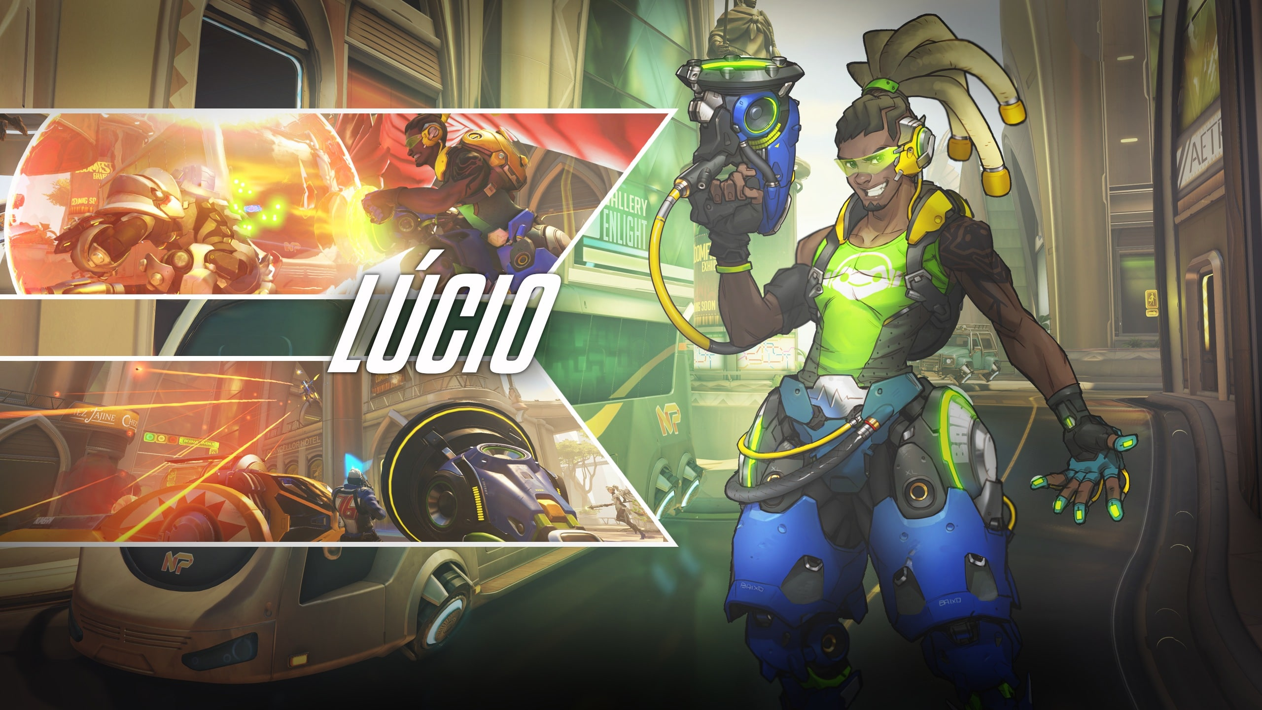 Overwatch : Lúcio HD pictures