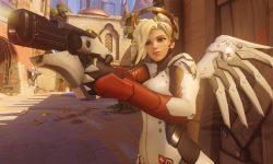 Overwatch : Mercy Backgrounds