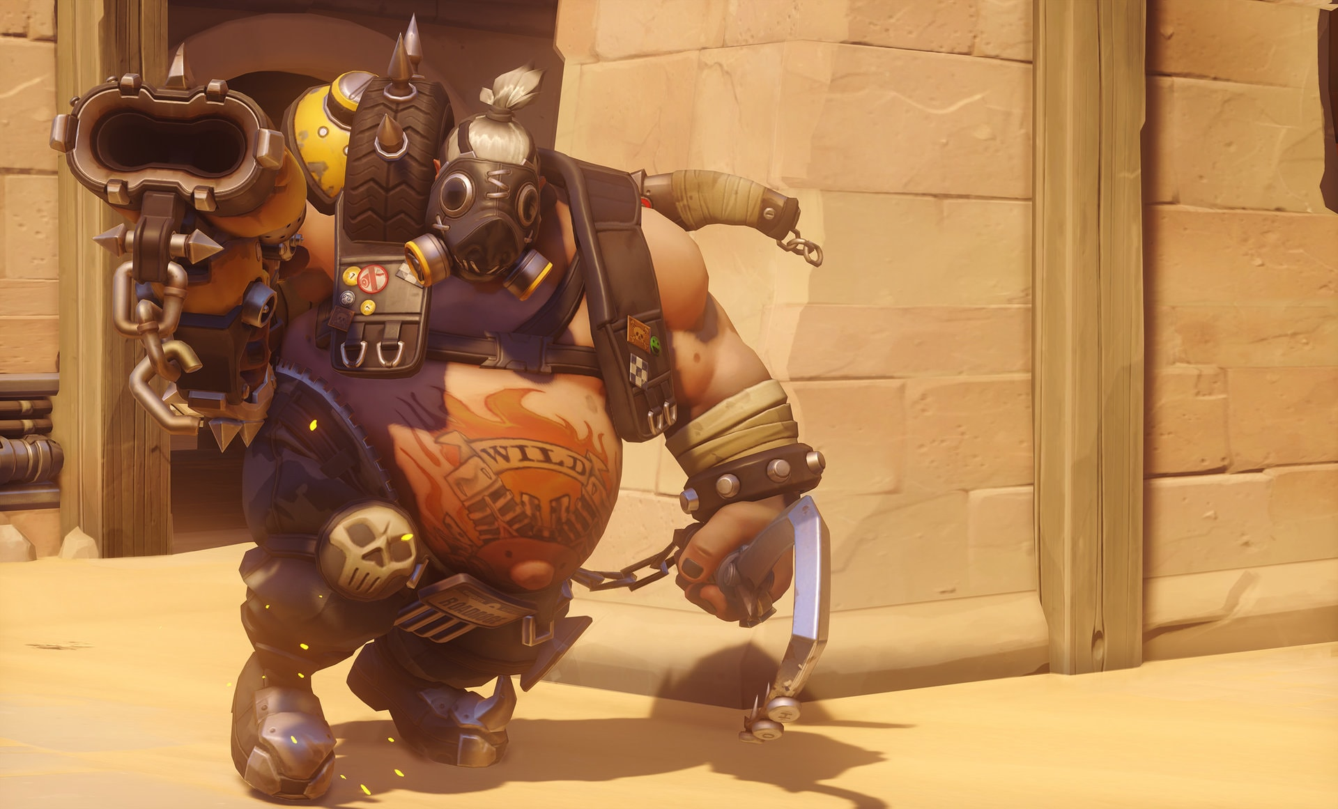 Overwatch : Roadhog Backgrounds