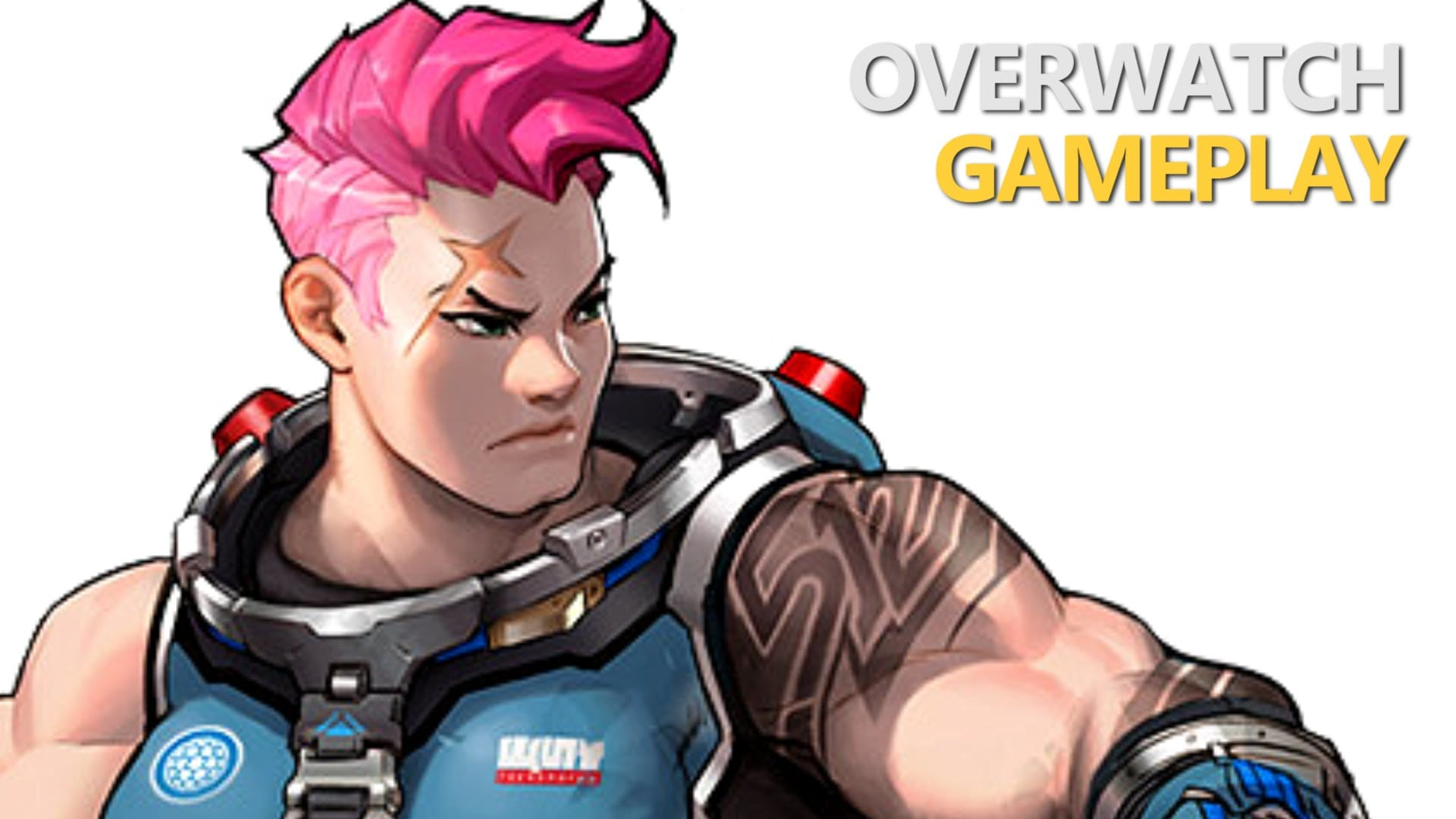 Overwatch : Zarya HD pictures