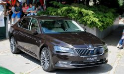 Skoda Superb 3 Wallpaper