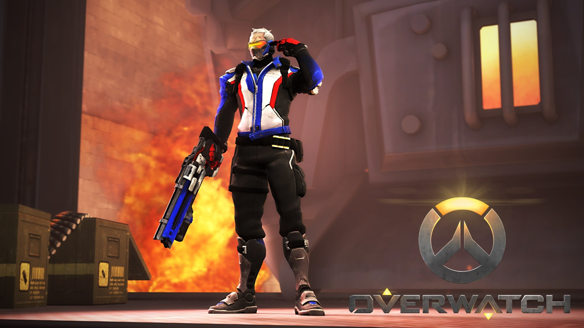 Overwatch : Soldier: 76 Backgrounds