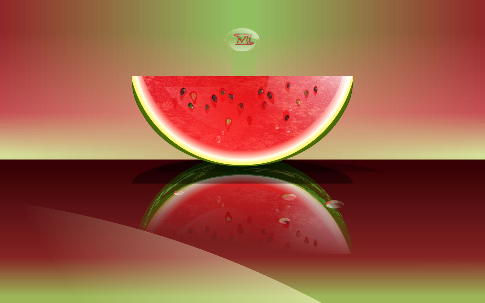 Watermelon widescreen for desktop