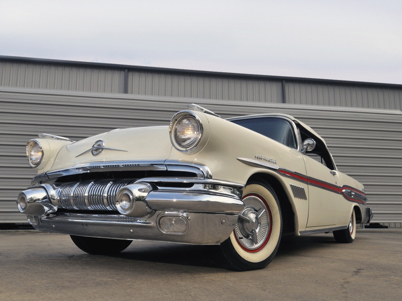 1957 Pontiac Star Chief Custom Bonneville HD pictures