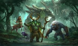 Dota 2 : Nature's Prophet HD pictures