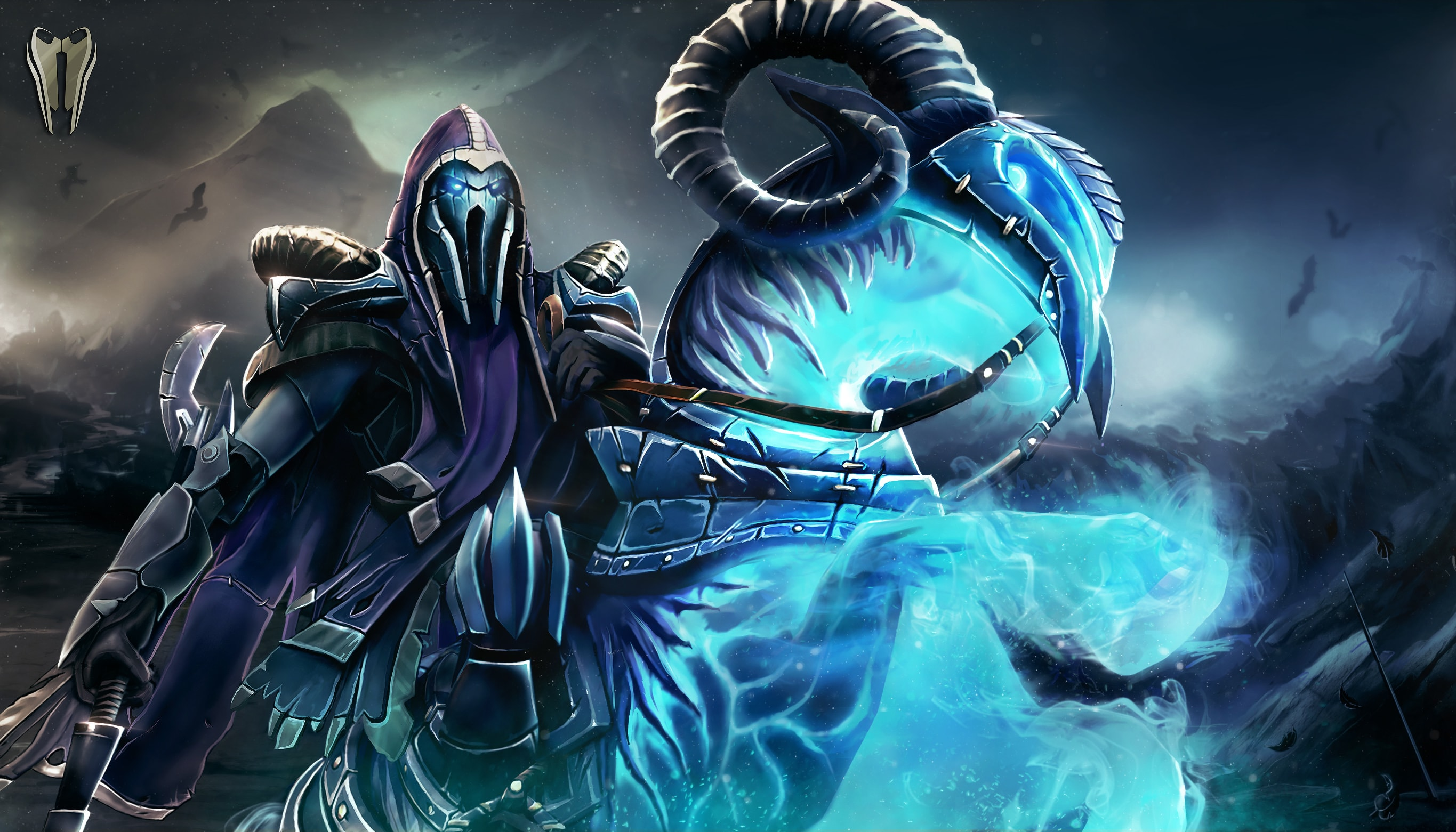 Dota2 : Abaddon full hd wallpapers