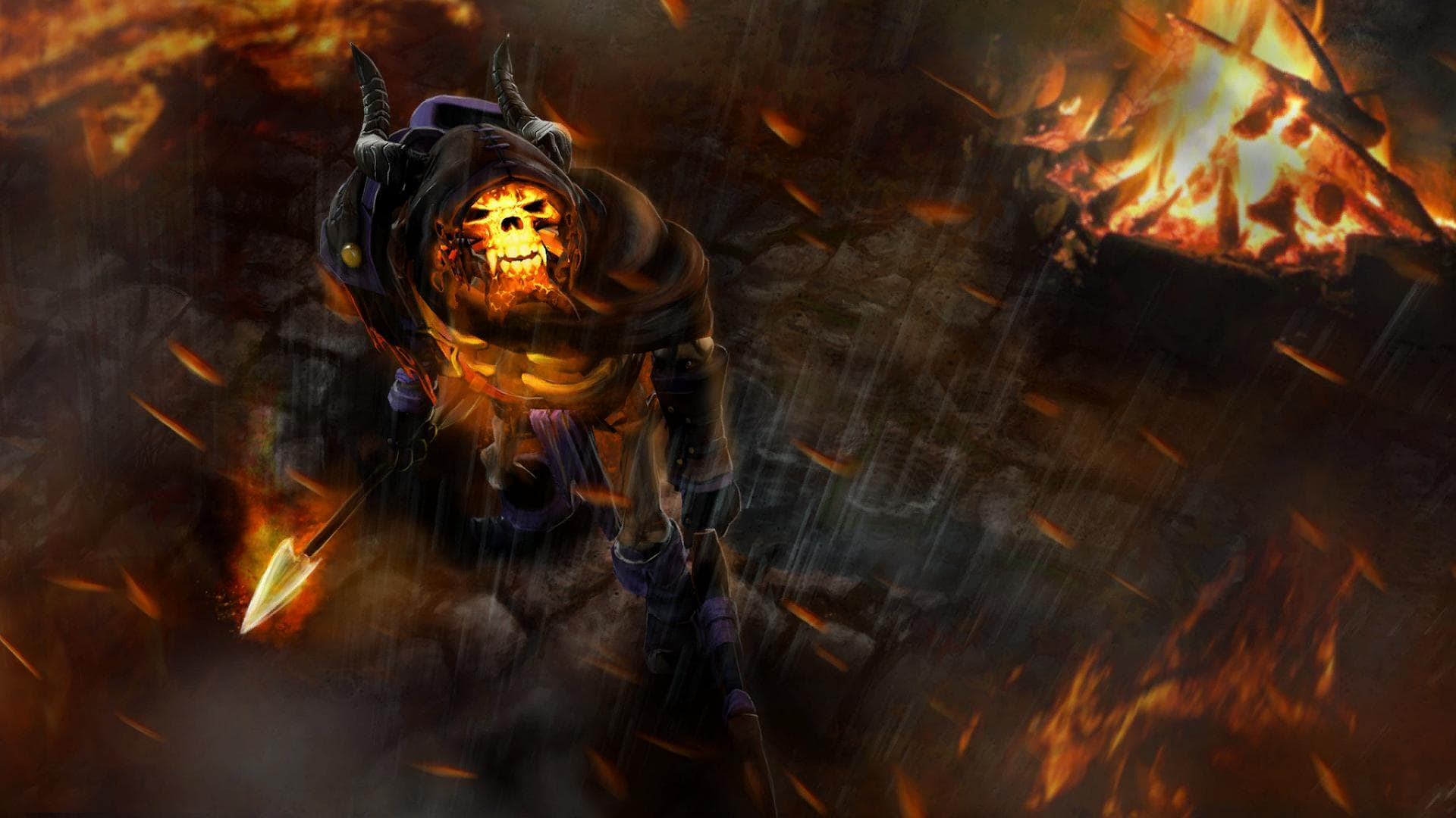 Dota2 : Clinkz widescreen wallpapers