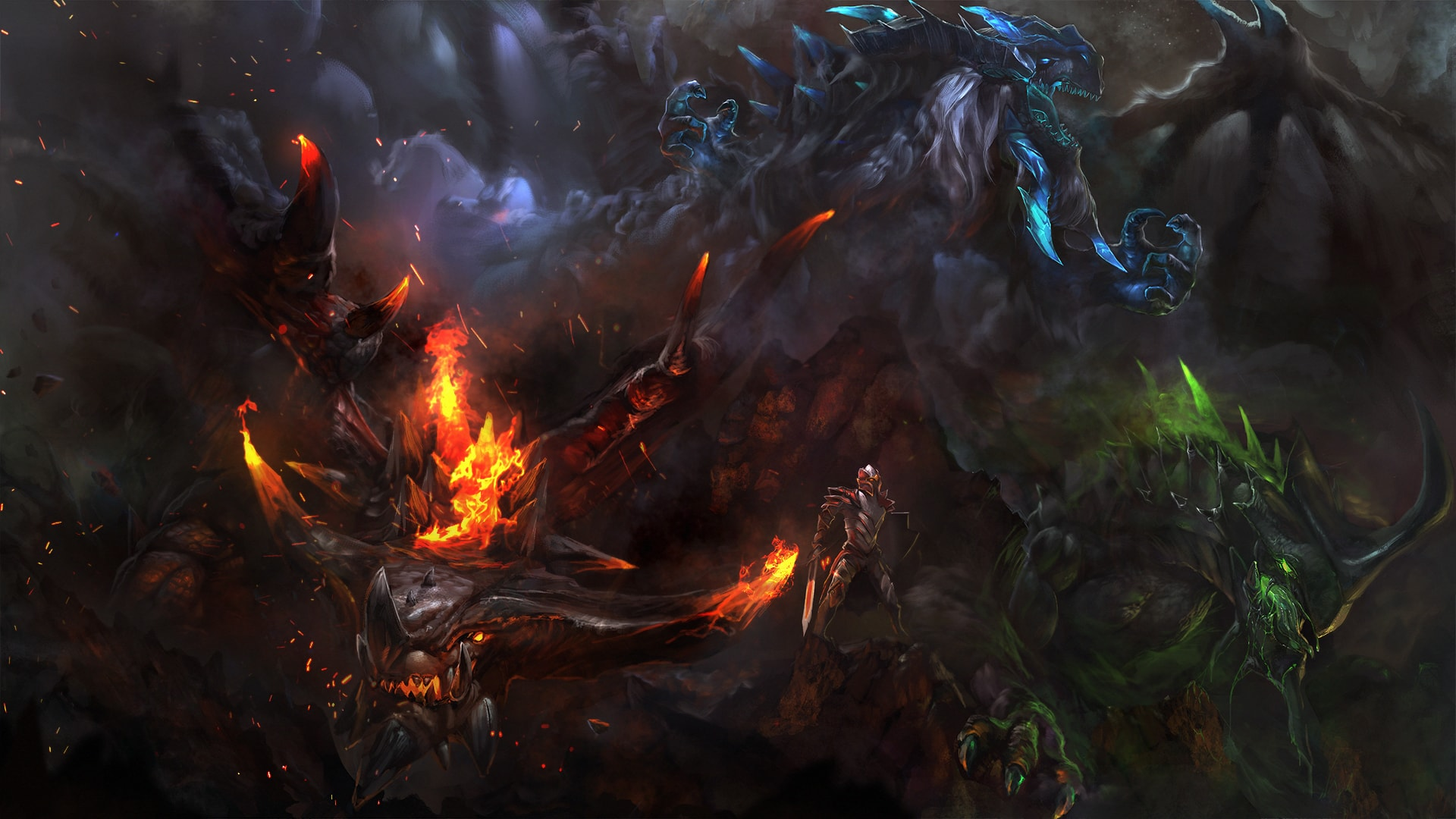 Dota2 : Dragon Knight HD pictures