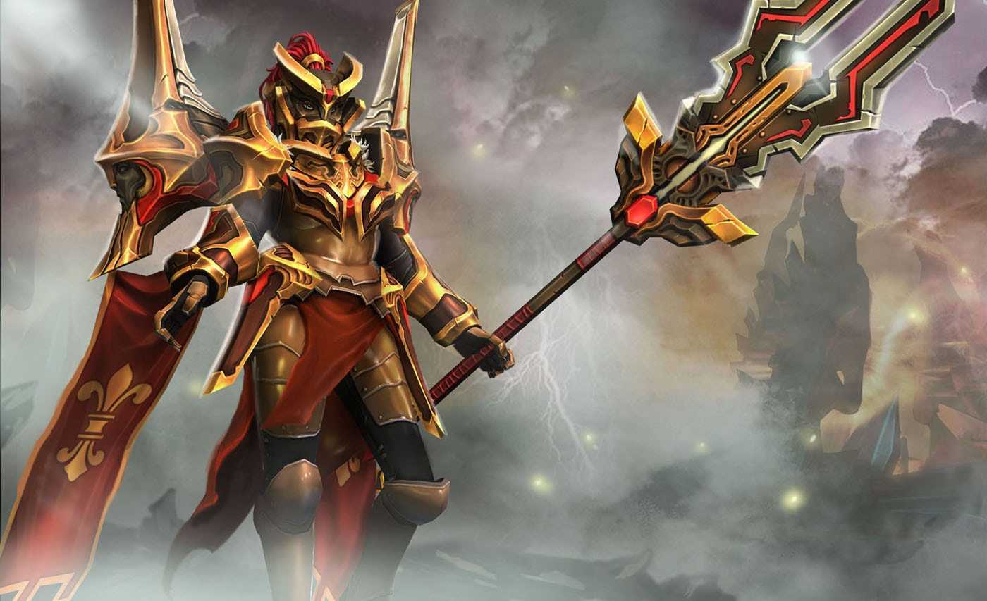 Dota2 : Legion Commander HD pictures