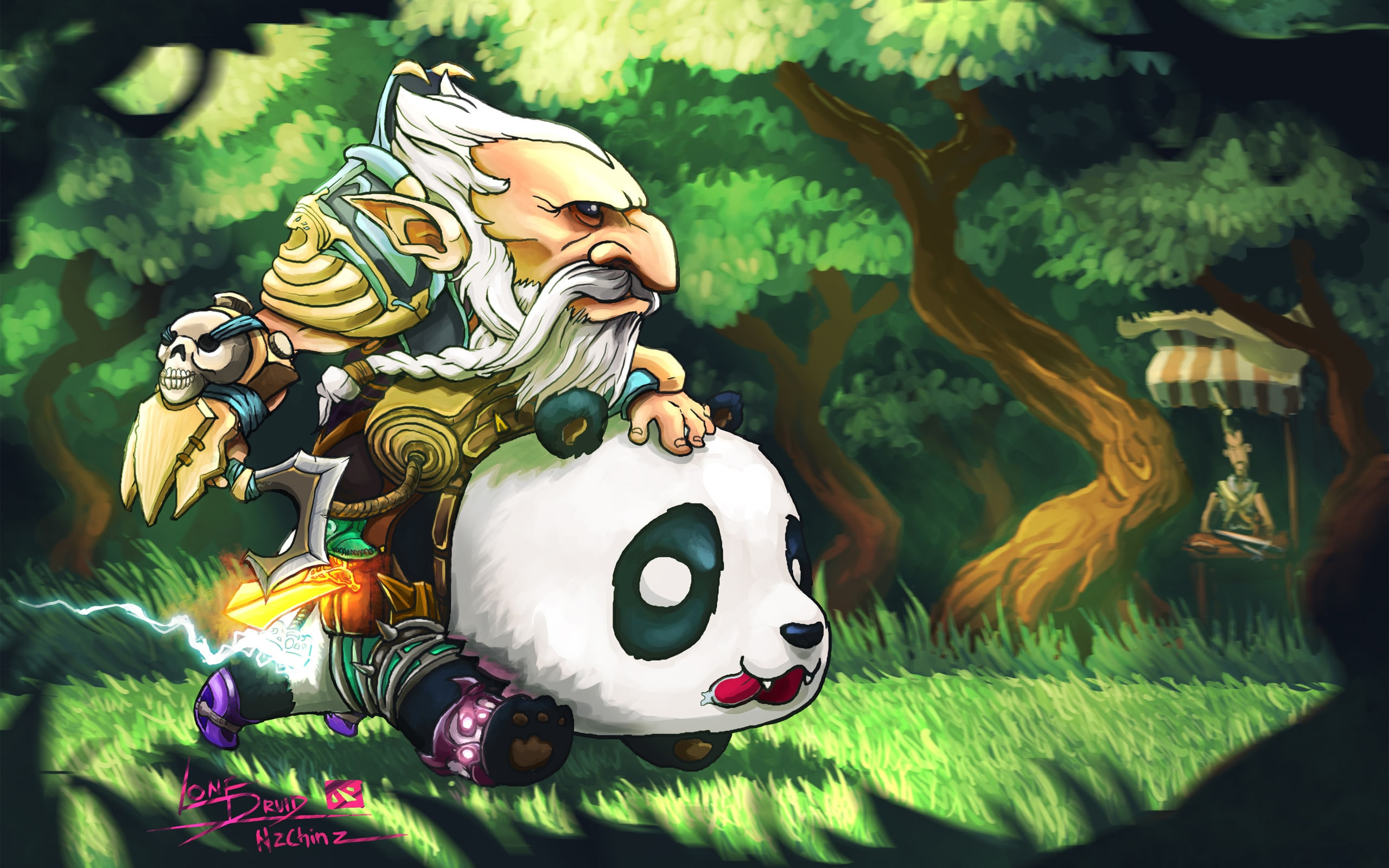 Dota2 : Lone Druid HD pictures