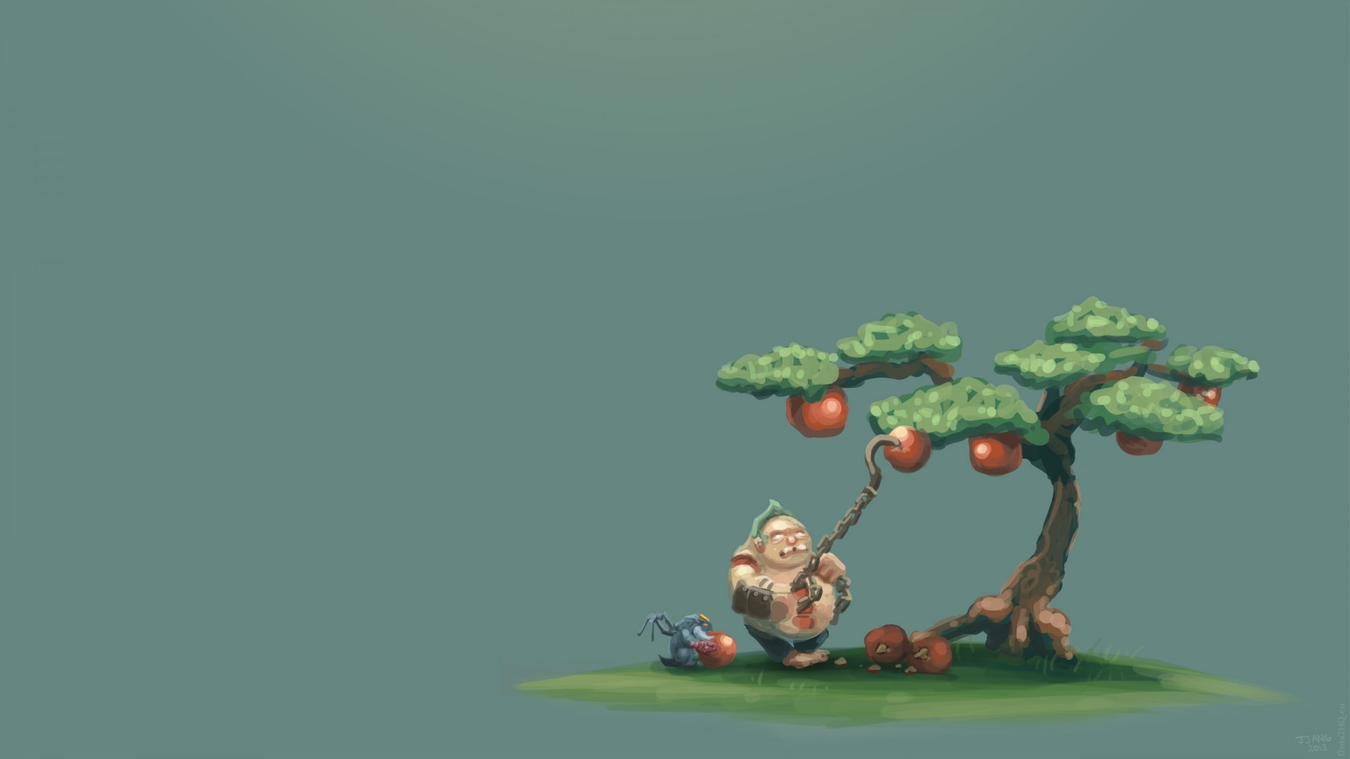 Dota2 : Pudge widescreen wallpapers