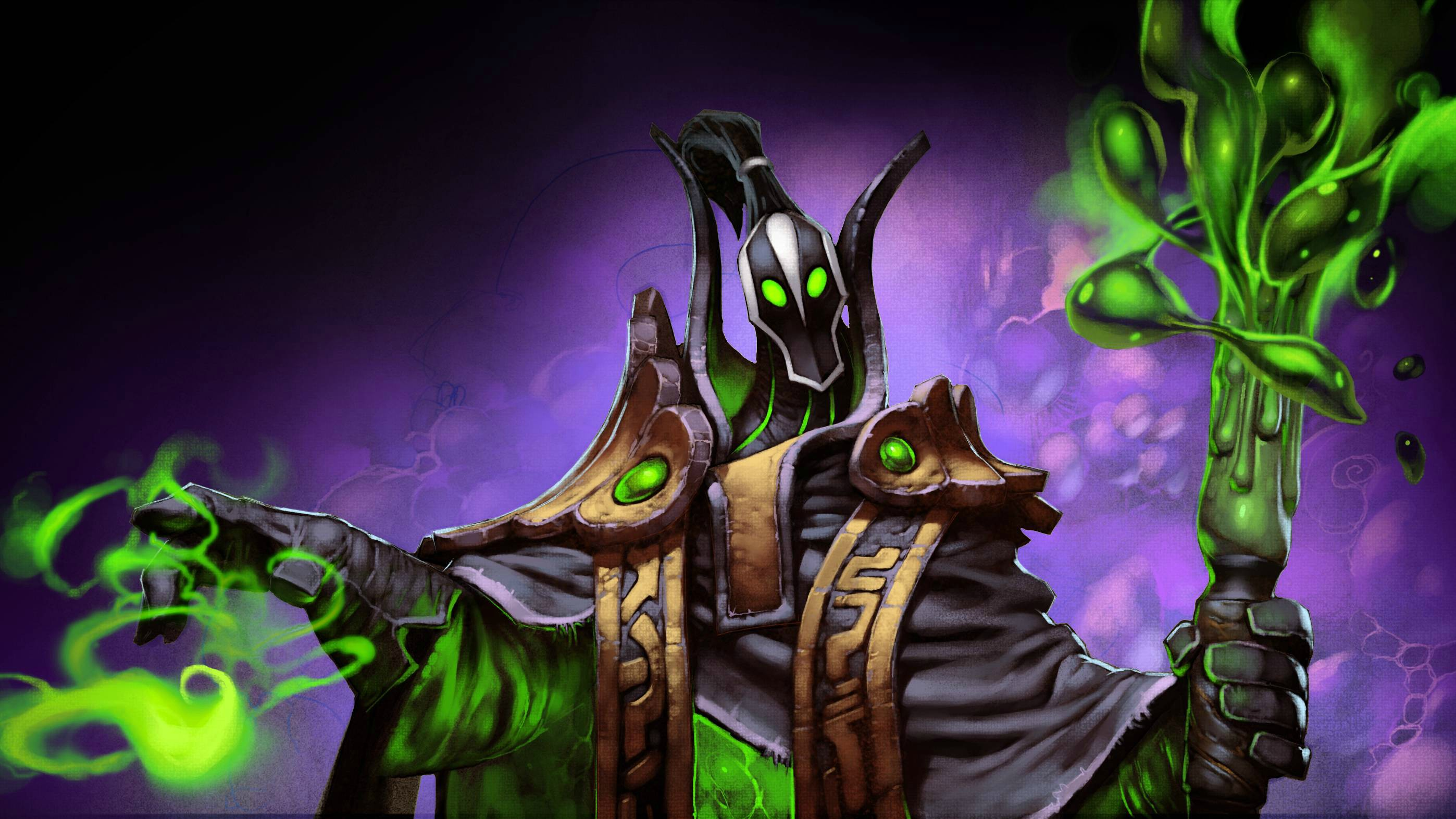 Dota2 : Rubick widescreen wallpapers