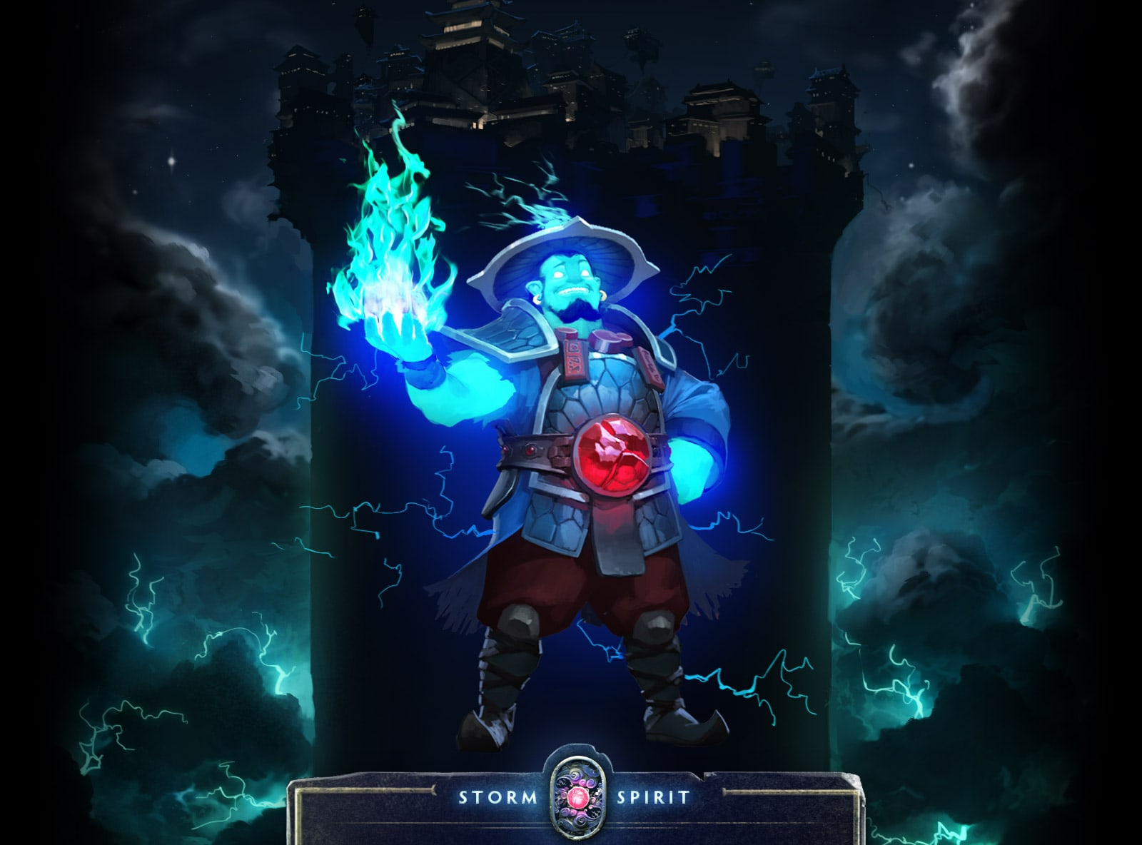 Dota2 : Storm Spirit HD pictures