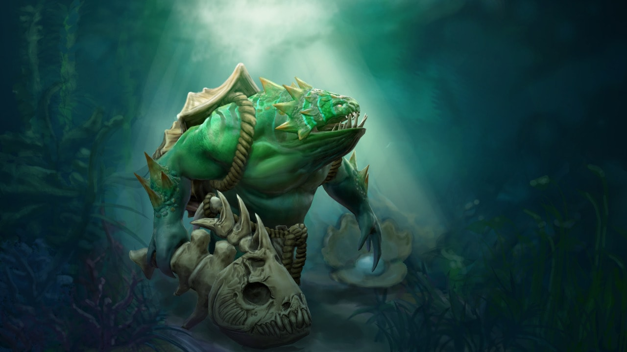 Dota2 : Tidehunter widescreen wallpapers