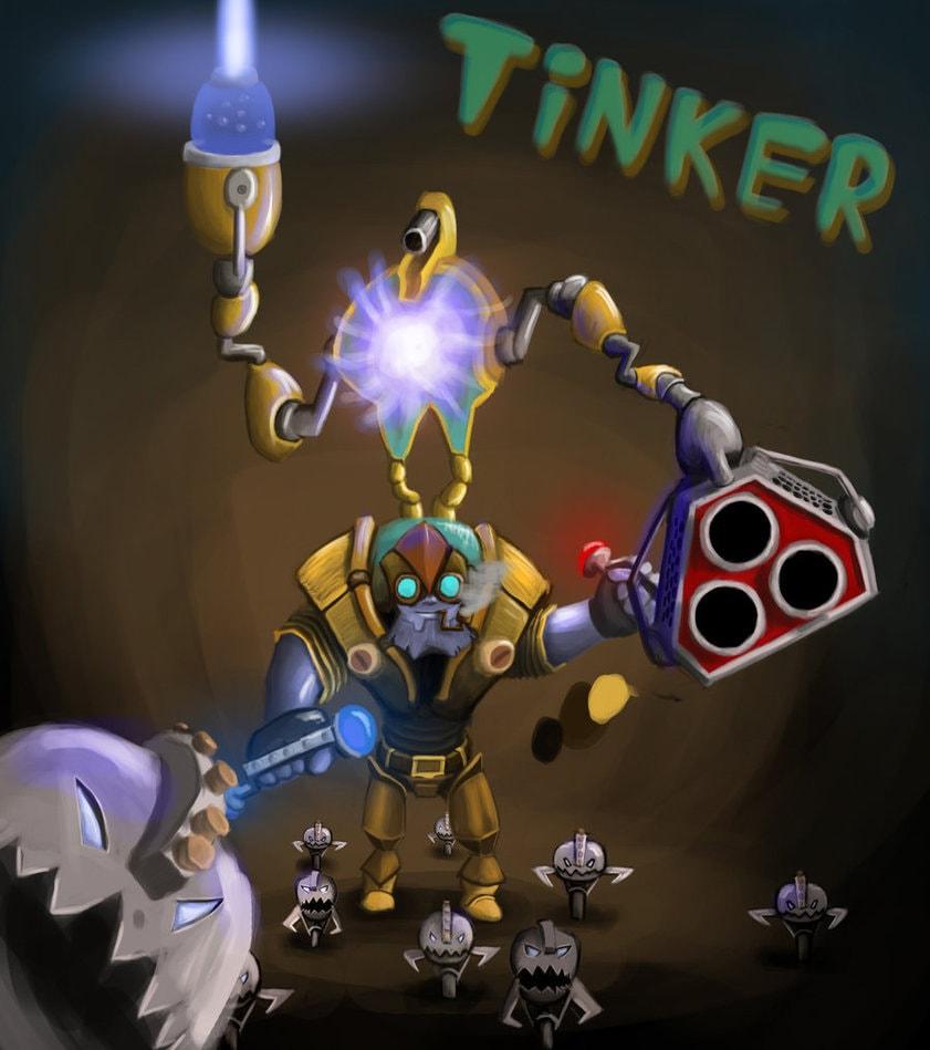 Dota2 : Tinker for mobile