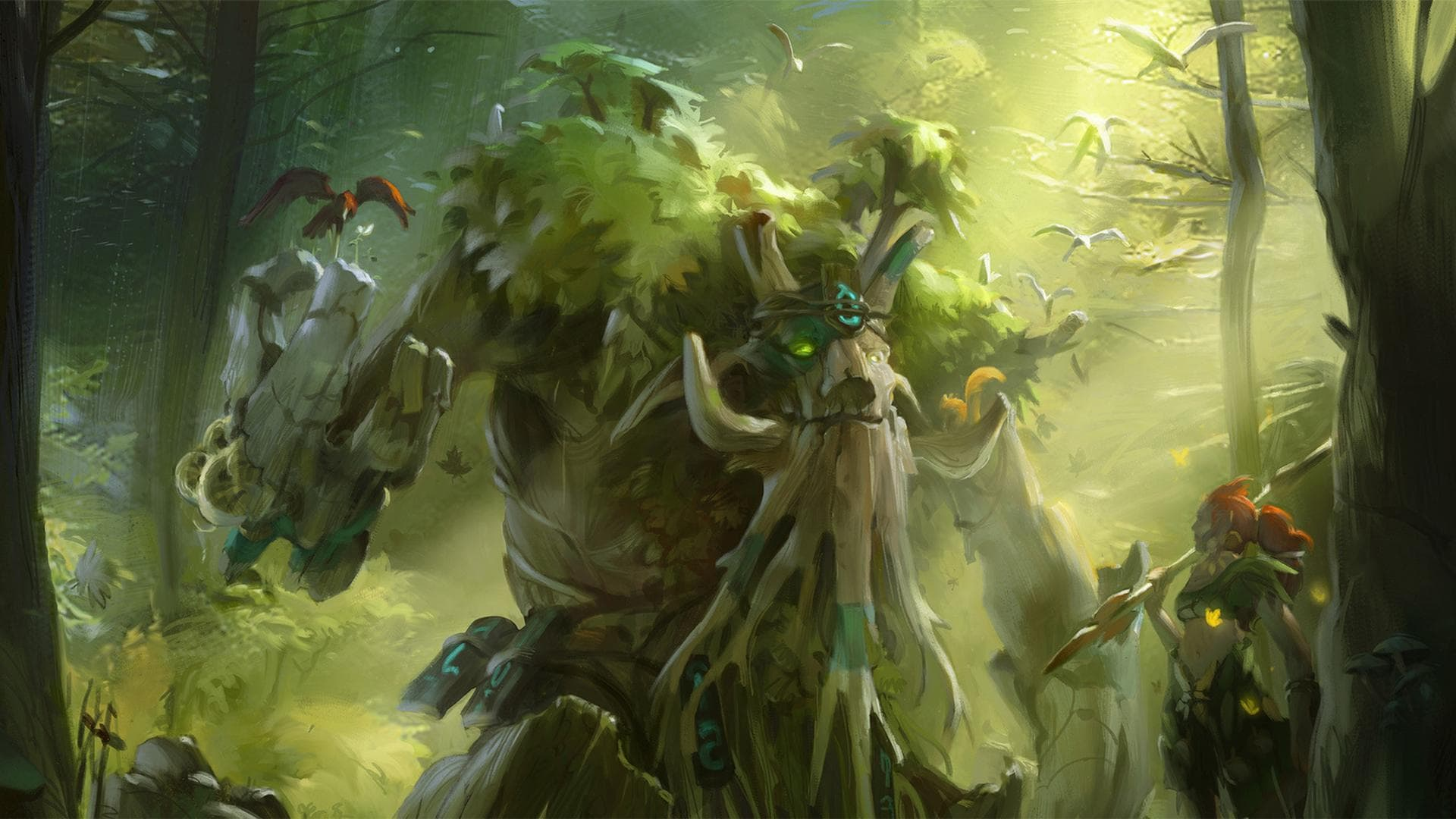 Dota2 : Treant Protector HD pictures
