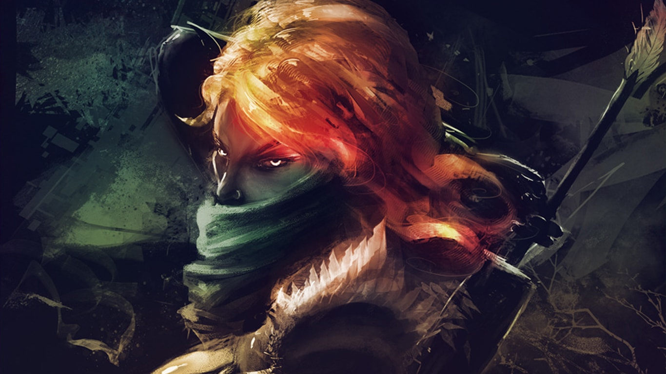 Dota2 : Windranger HD pictures